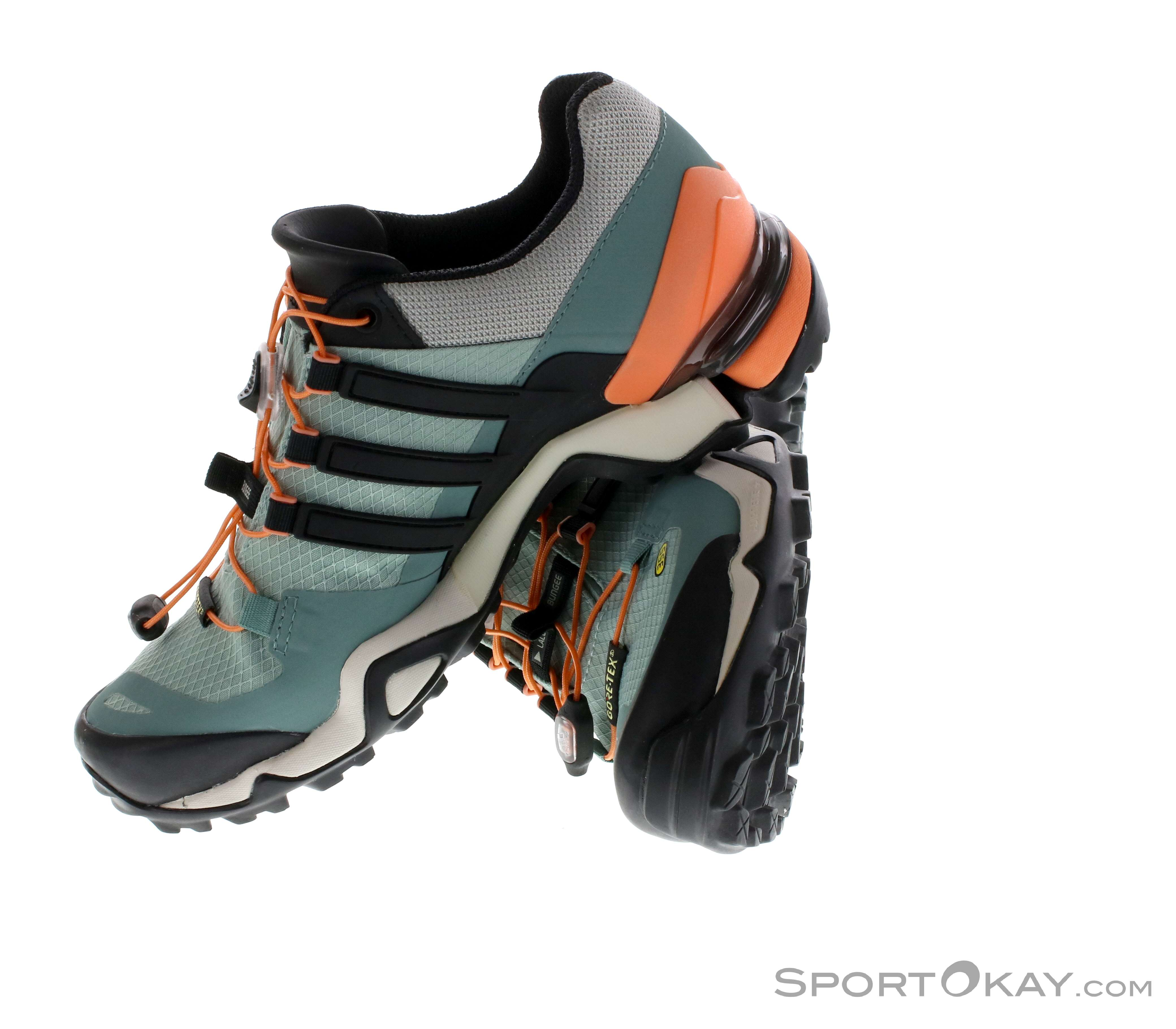 on sale 5ae37 1ca61 adidas Terrex Fast R GTX Womens Outdoor Shoes Gore-Tex, adidas, Gray,