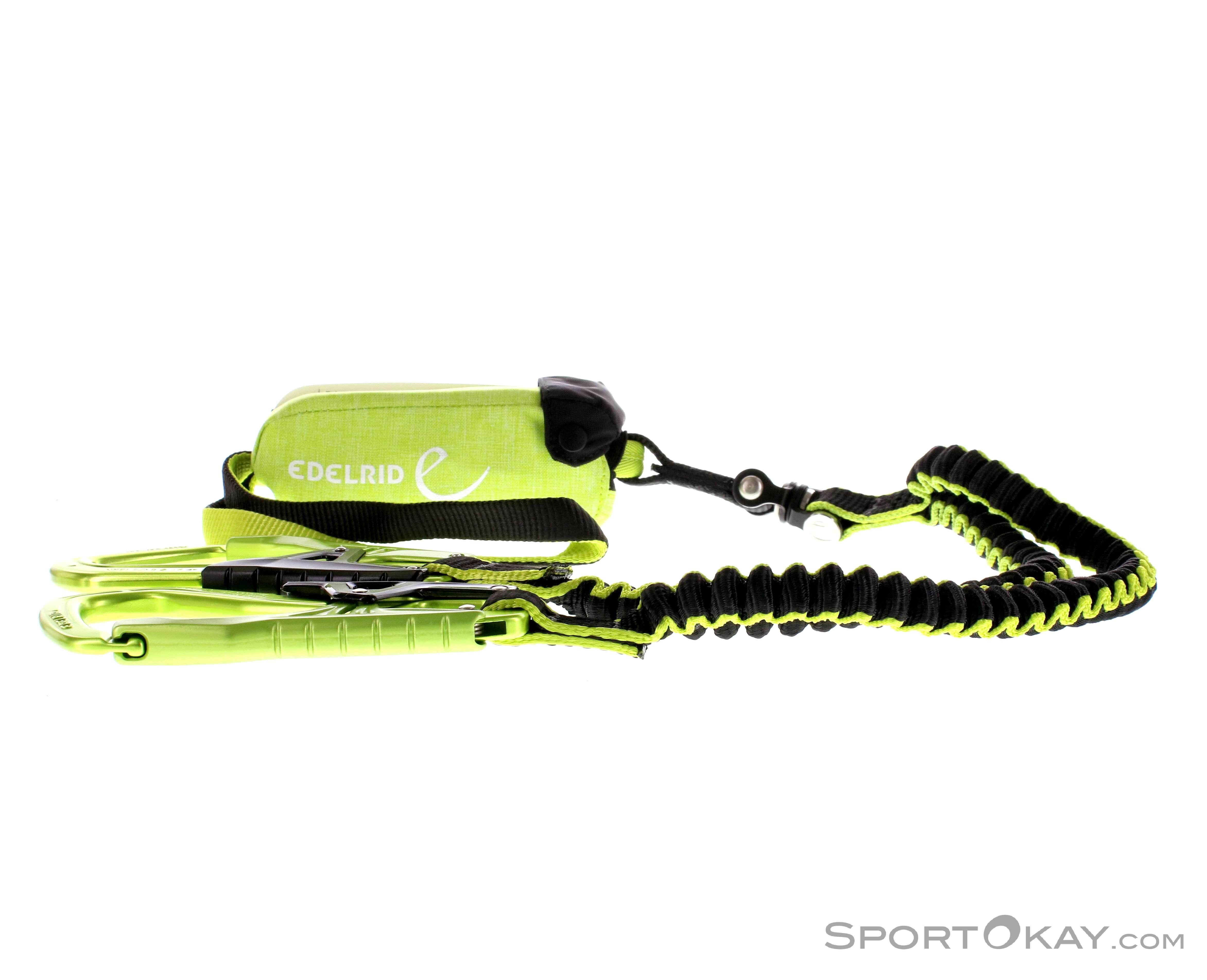 Klettersteigset Dämpfer : Edelrid cable comfort 5.0 klettersteigset
