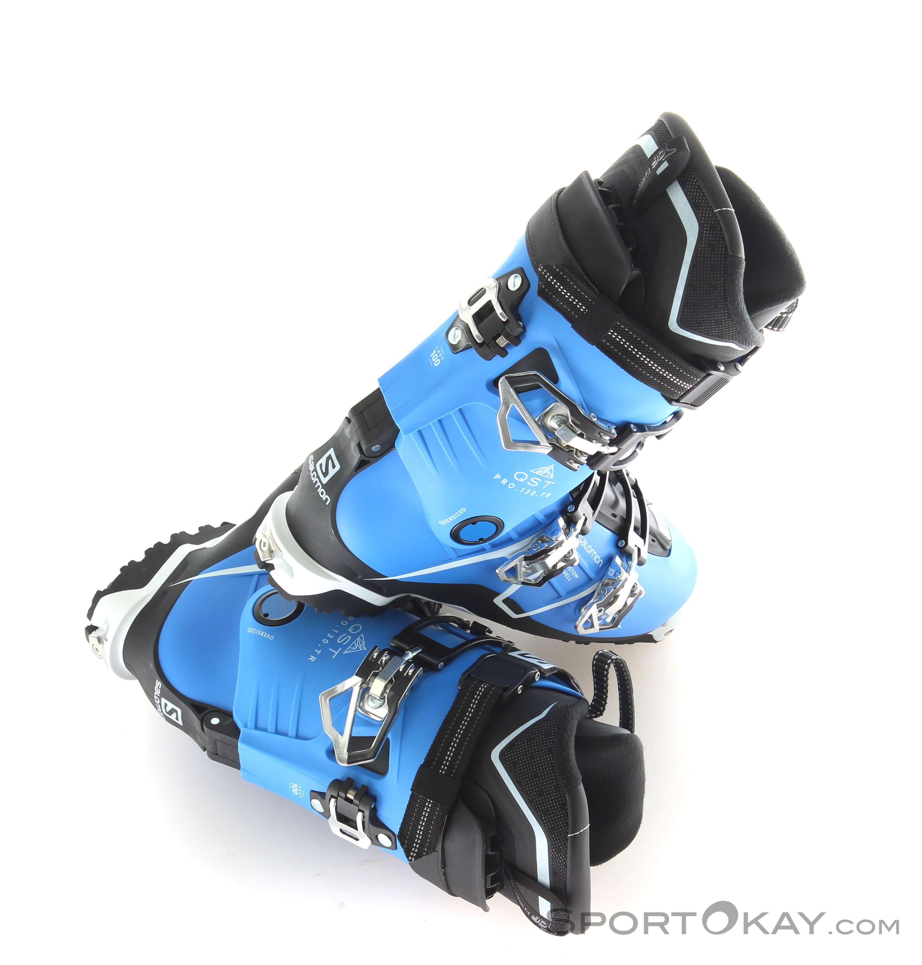 dcee59ed63 Salomon QST Pro 130 TR Mens Ski Boots - Ski Touring Boots - Ski ...