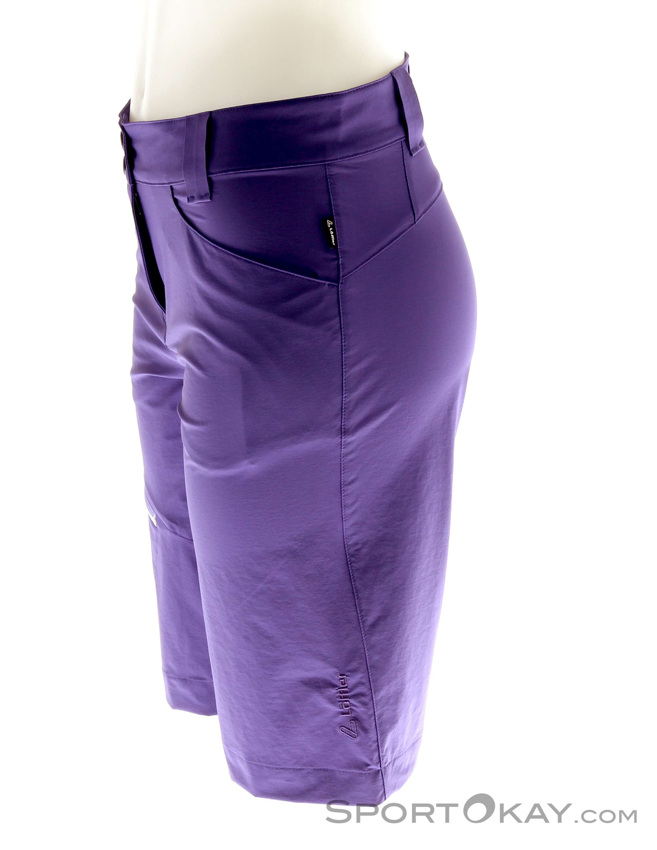 l ffler trekking shorts csl damen outdoorhose hosen outdoorbekleidung outdoor alle. Black Bedroom Furniture Sets. Home Design Ideas