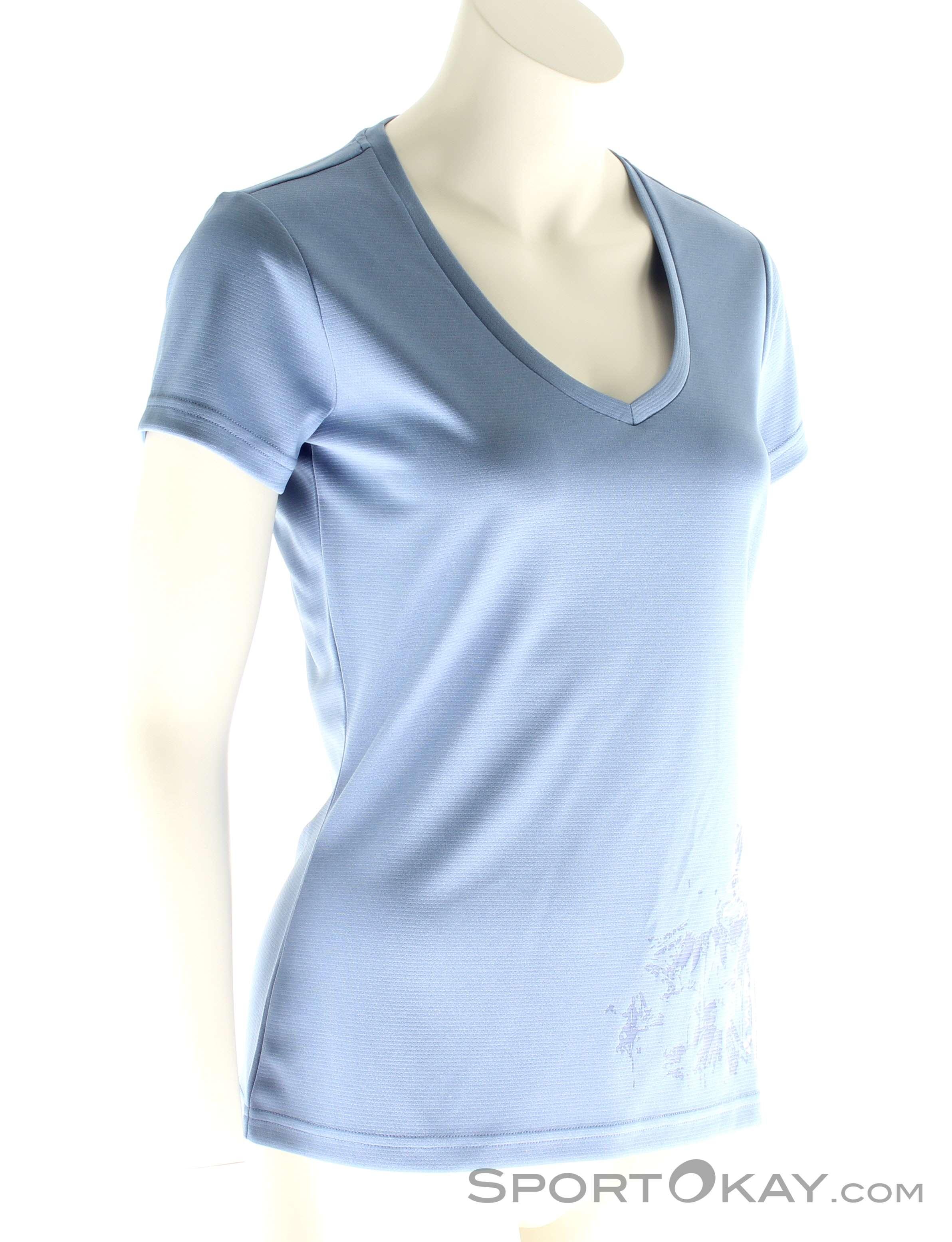 618a4a7f77 Vaude Moyle Shirt Donna Maglietta Outdoor , Vaude, Porpora, , Donna, 0239-