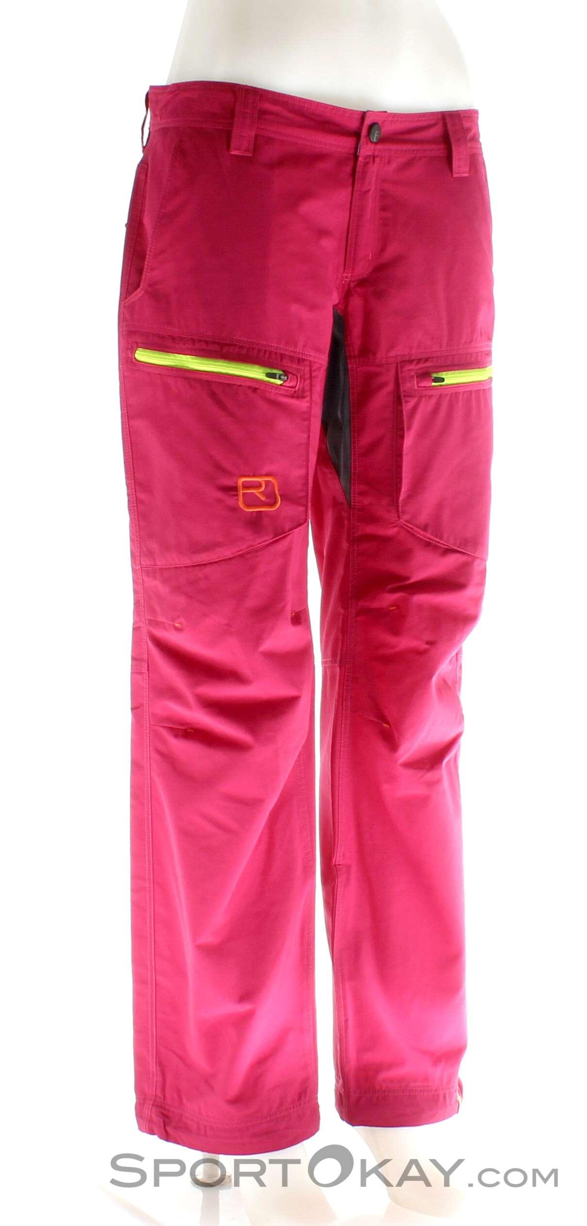 Ortovox Shield Vintage Pants Cargo Damen Outdoorhose, Ortovox, Lila, , Damen, 0016-10569, 5637558670, 4250875215900, N1-01.jpg