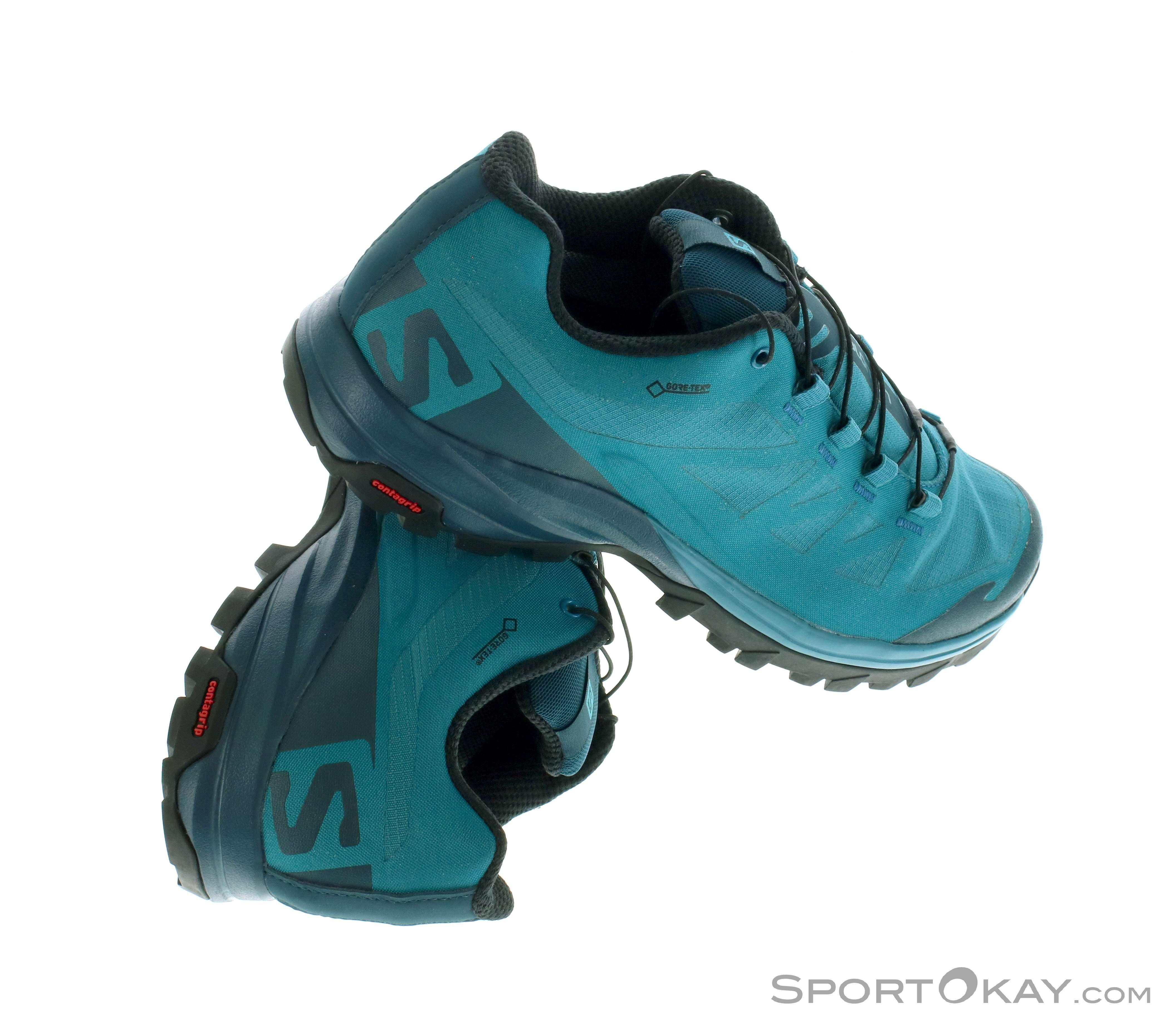 more photos 57802 af017 Salomon Salomon Outpath GTX Womens Trekking Shoes Gore-Tex