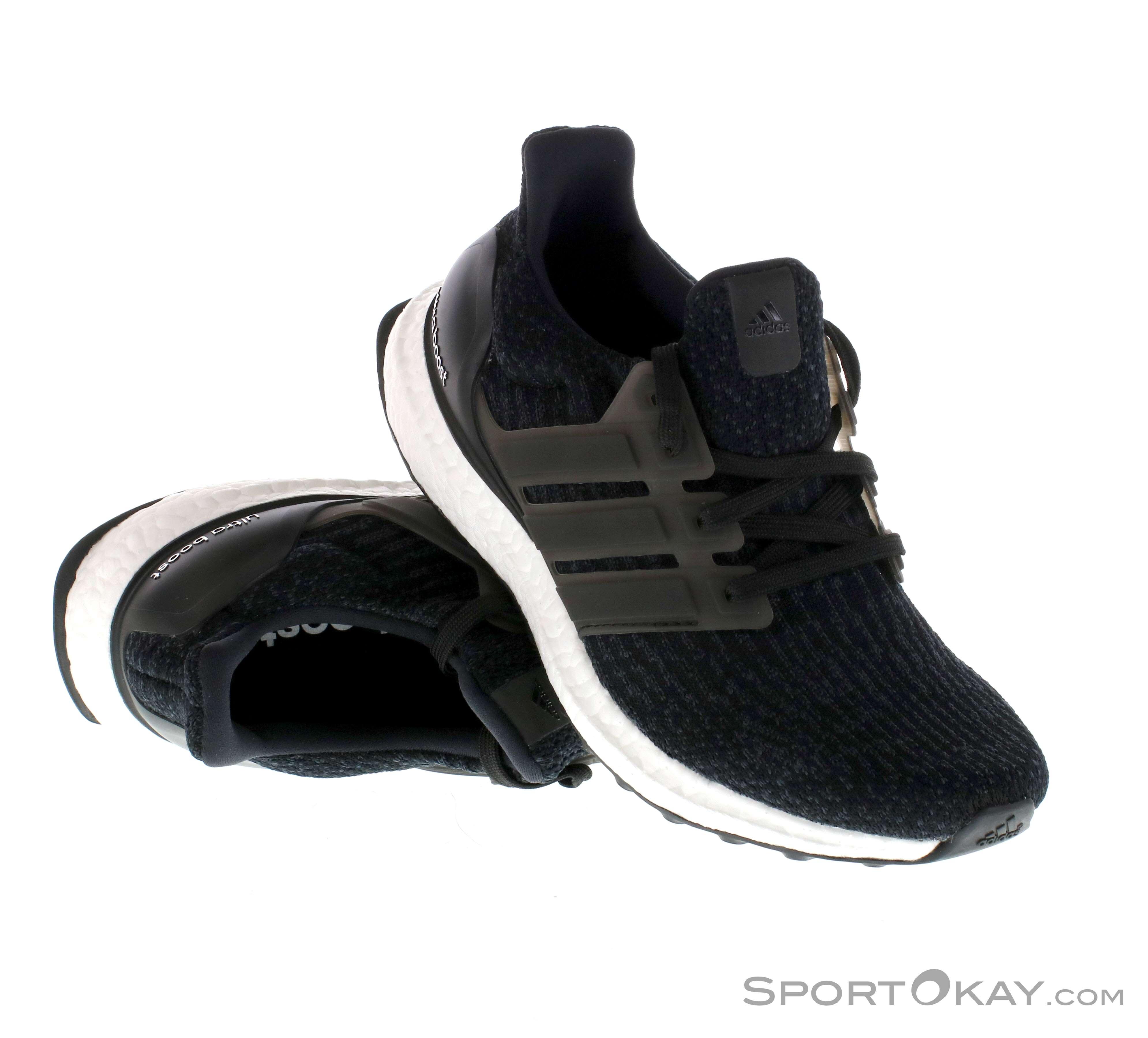 adidas Ultraboost S80682 Black Women's Running Shoes Size 9.5