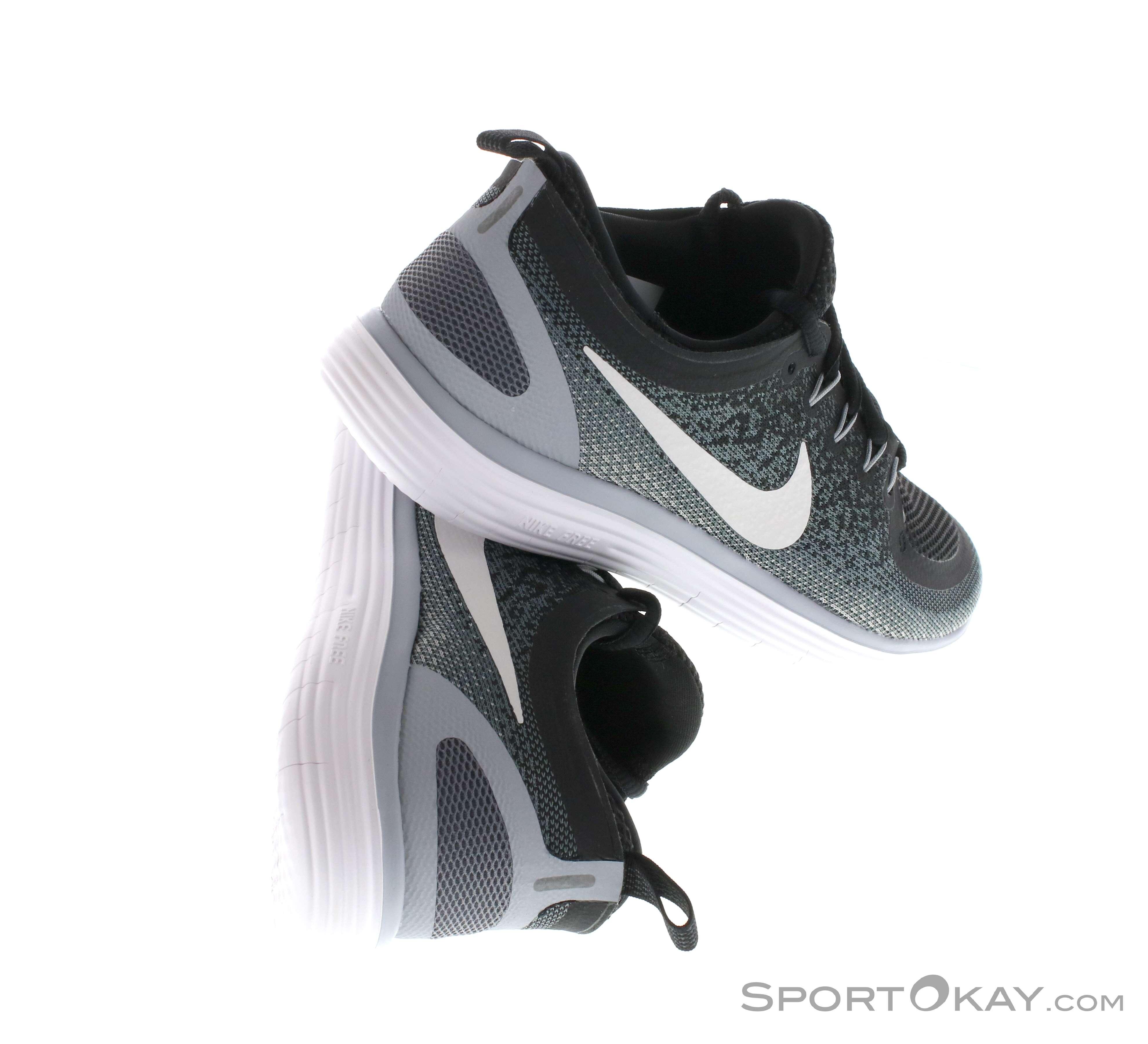 Nike Herren Free Rn Distance Laufschuhe, Schwarz