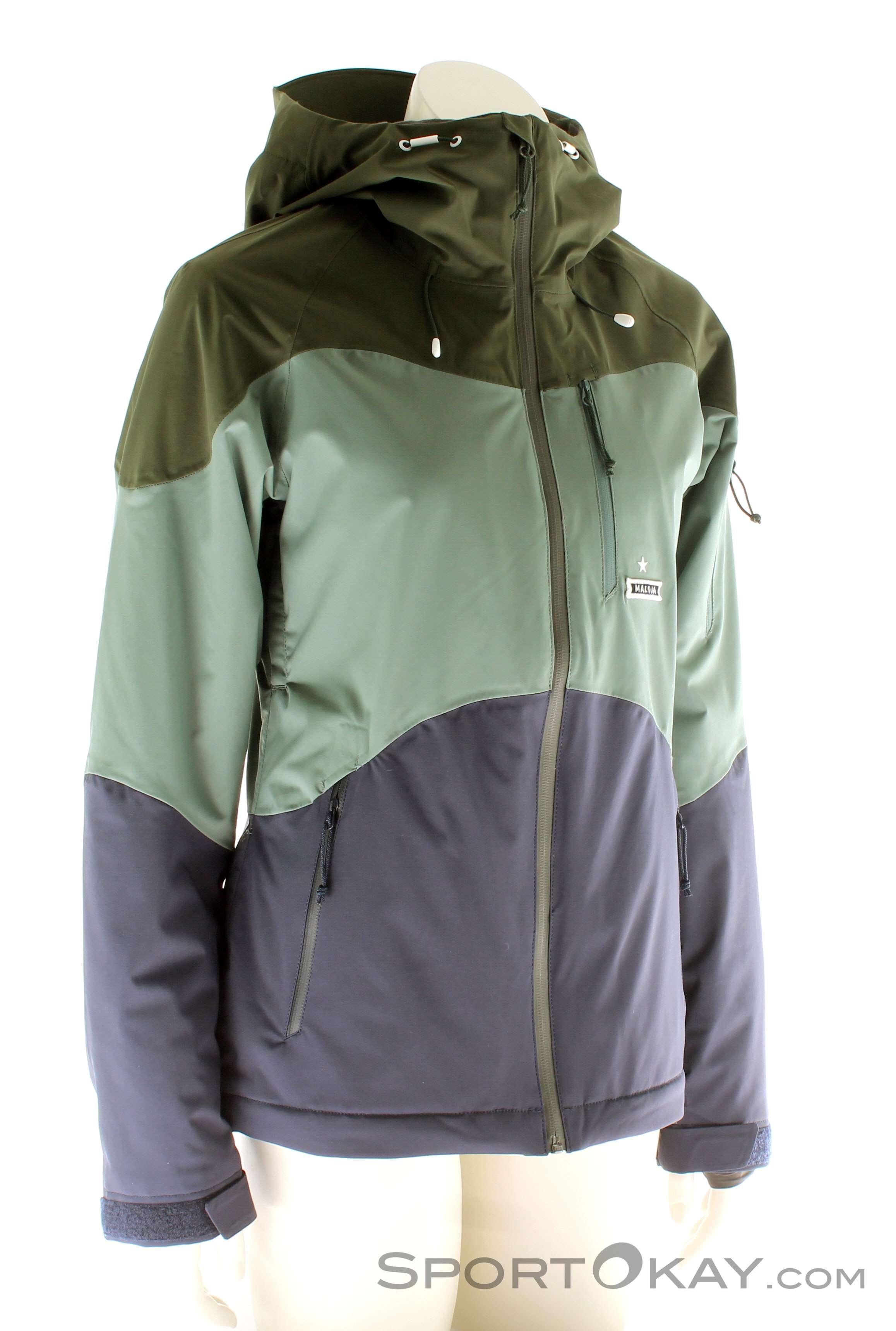 Outdoorbekleidung Jacken Maloja Almelom Damen Skijacke Jacket F7WZqSX