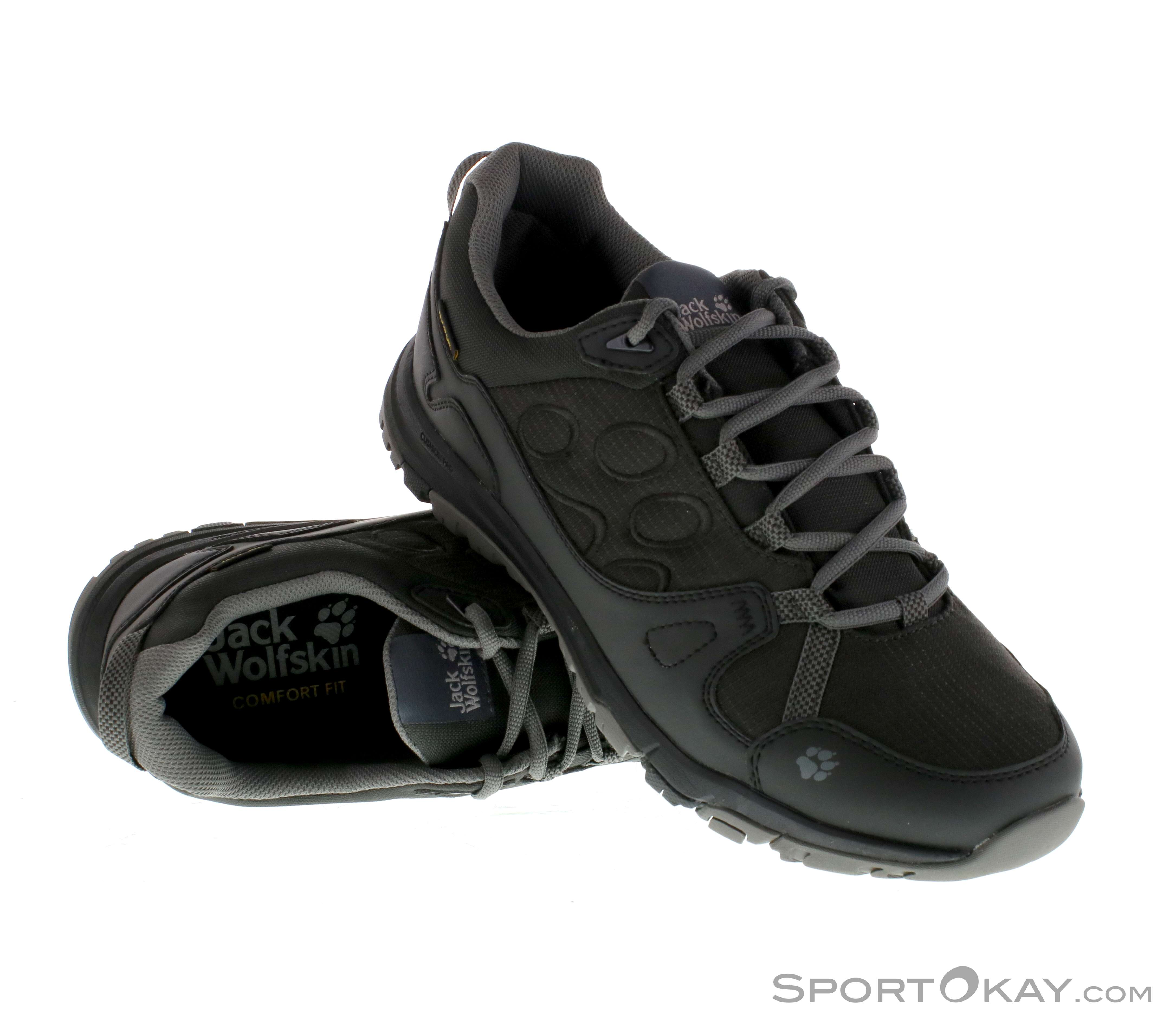 fc1f7a6b5c8 Jack Wolfskin Activate Texapore Low Mens Trekking Shoes , Jack Wolfskin,  Black, , Male