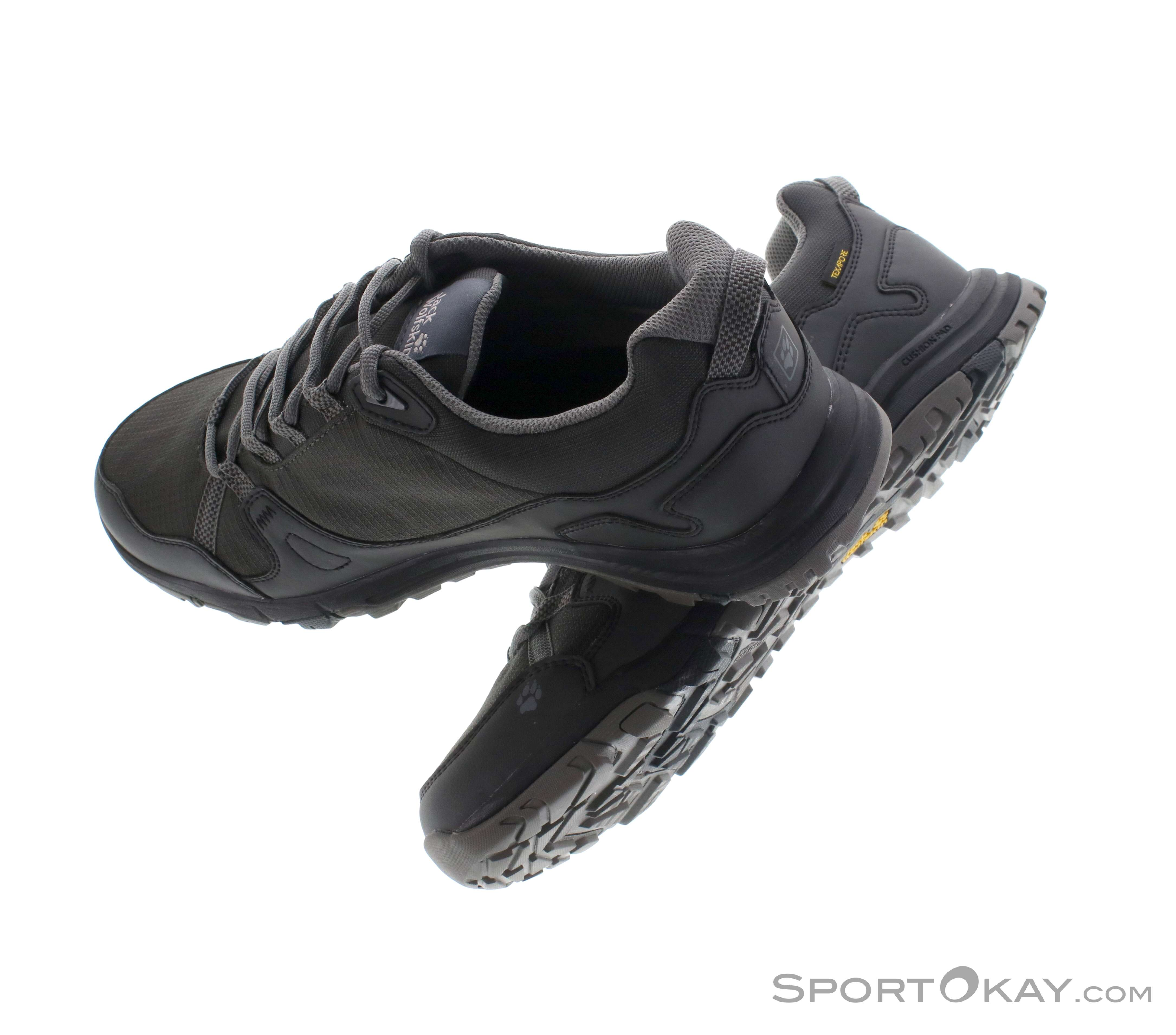Wolfskin Texapore Shoes Mens Low Activate Trekking Jack POknw80