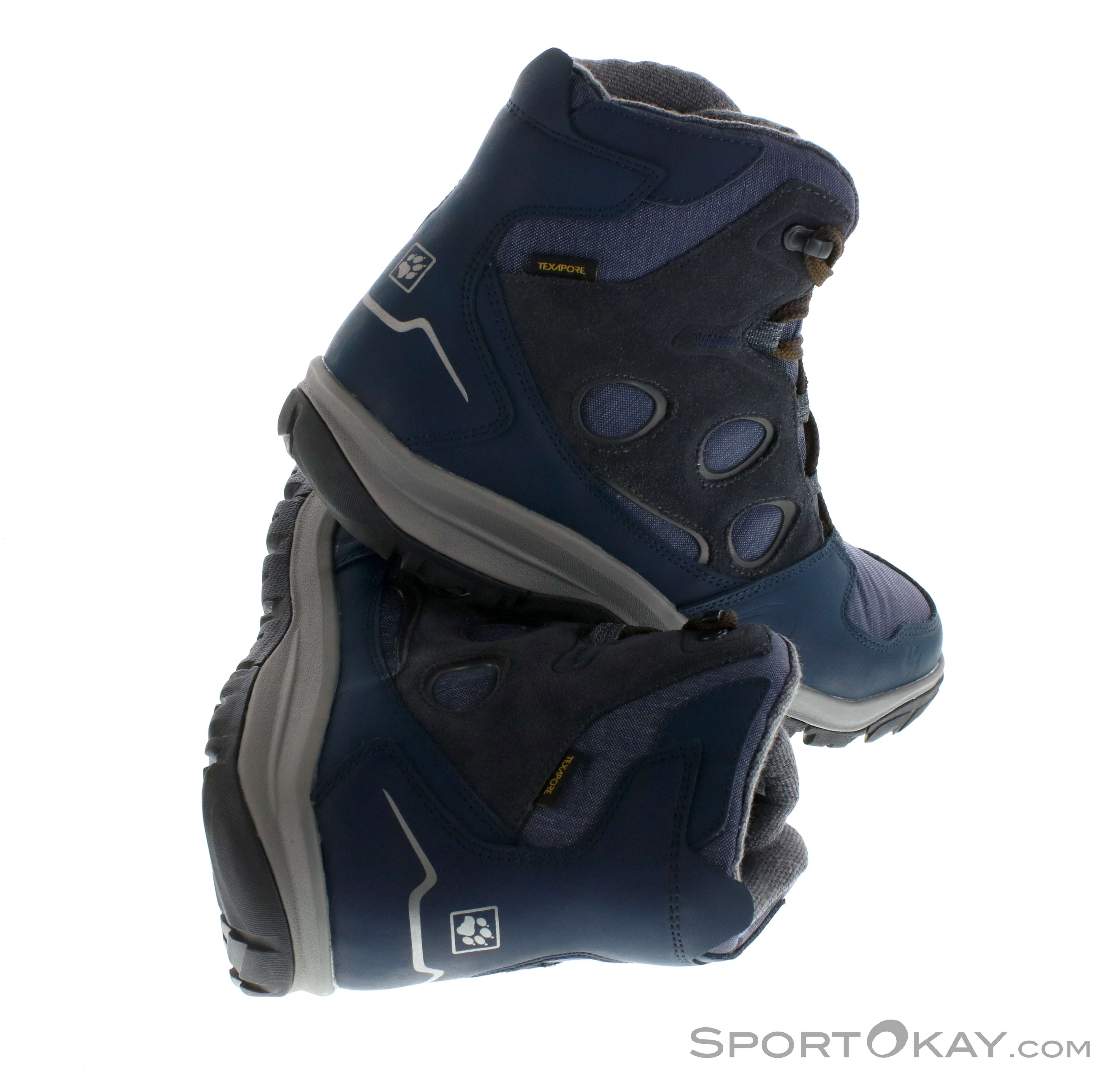 14eb5345b86 Jack Wolfskin Vancouver Texapore Mid Mens Hiking Boots, Jack Wolfskin,  Blue, , Male