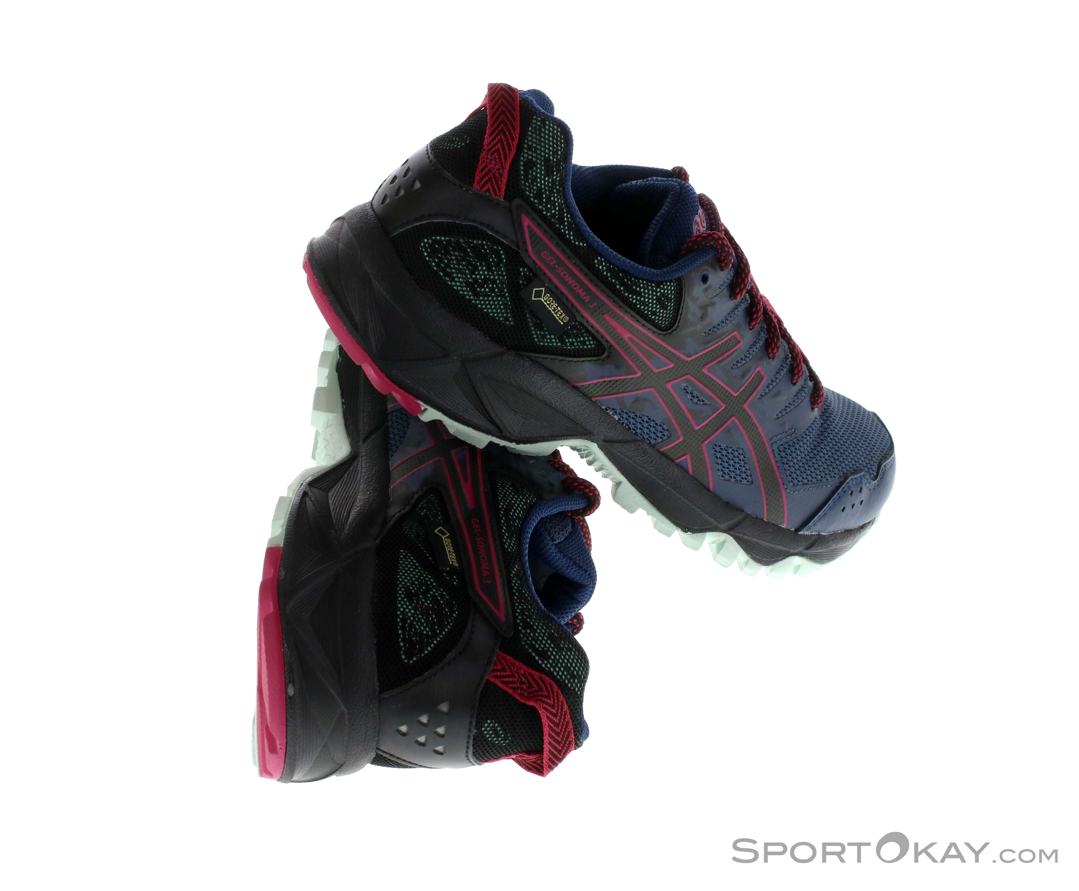 Asics Gel Sonoma 3 Damen Traillaufschuhe Gore-Tex