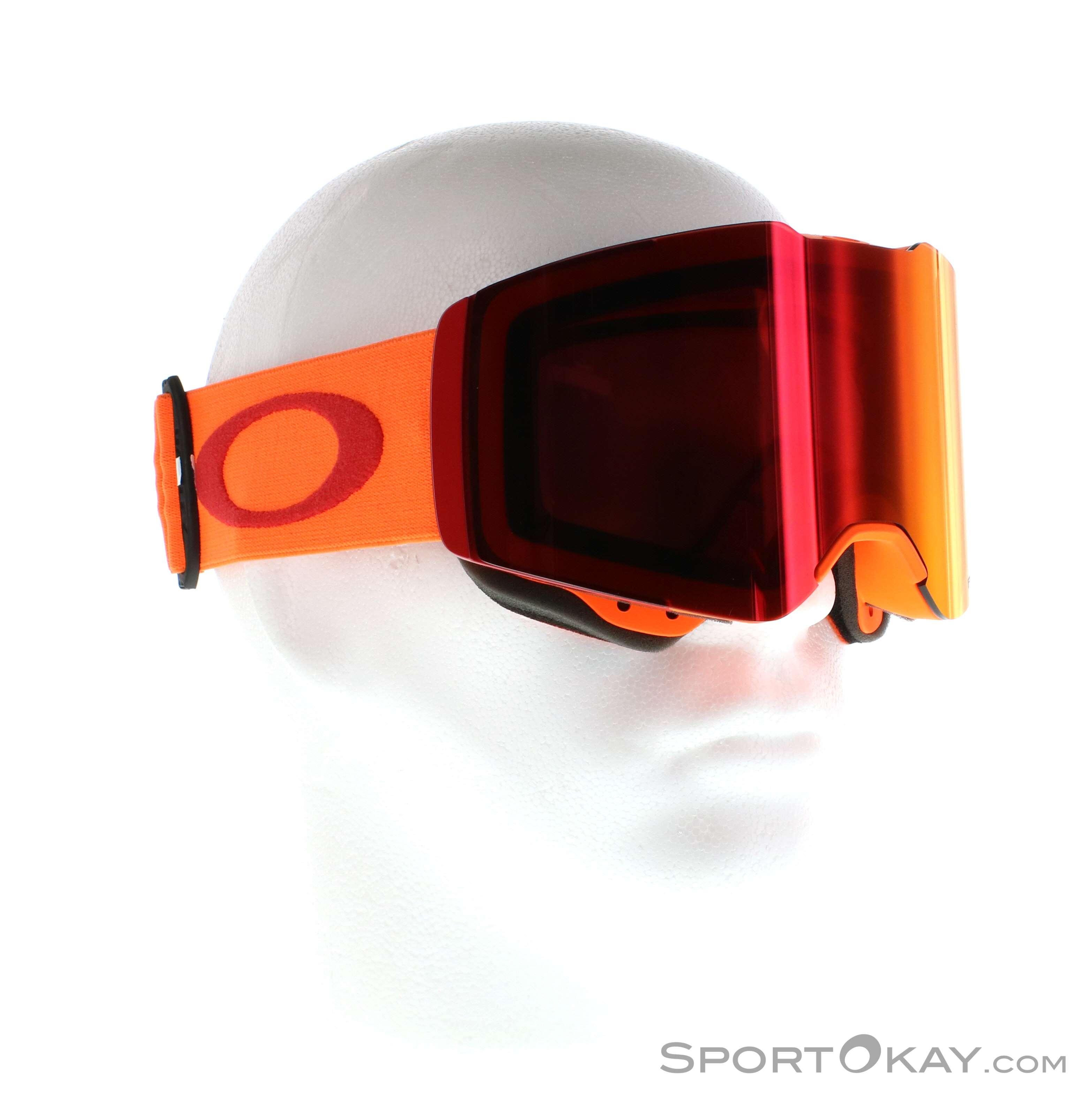 Oakley Fall Line Prizm Skibrille, Oakley, Orange, , Herren, 0064-10117