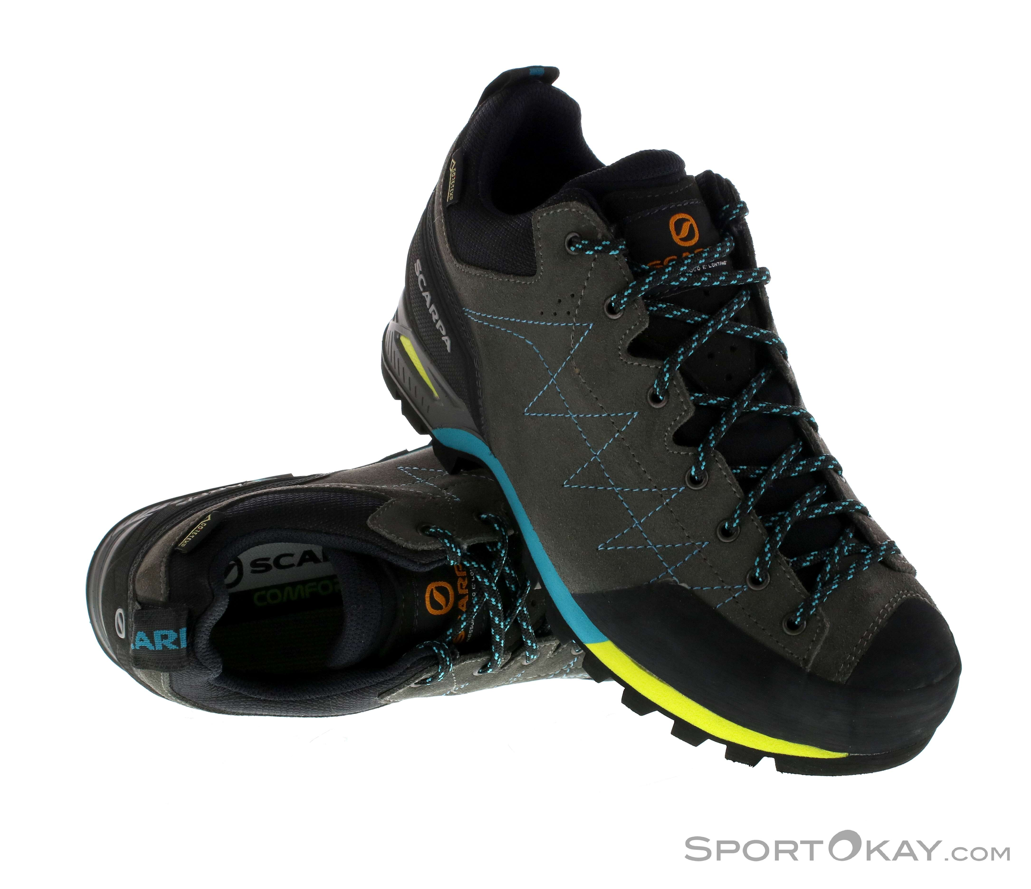 d90a8fadaaeb7 Scarpa Scarpa Zodiac GTX Womens Approach Shoes Gore-Tex
