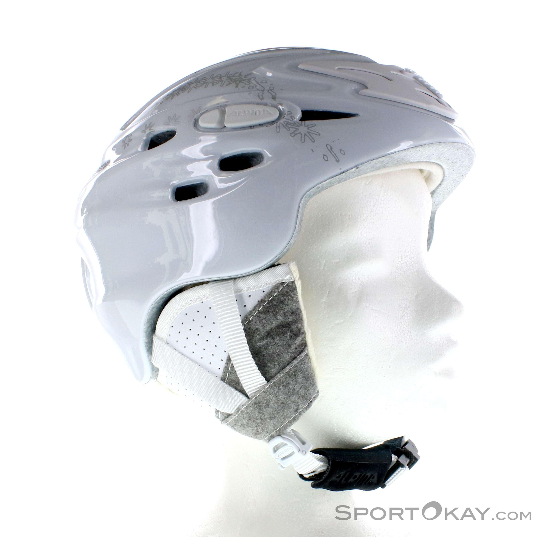 Alpina Scara Ski Helmet Alpina White Male 0027