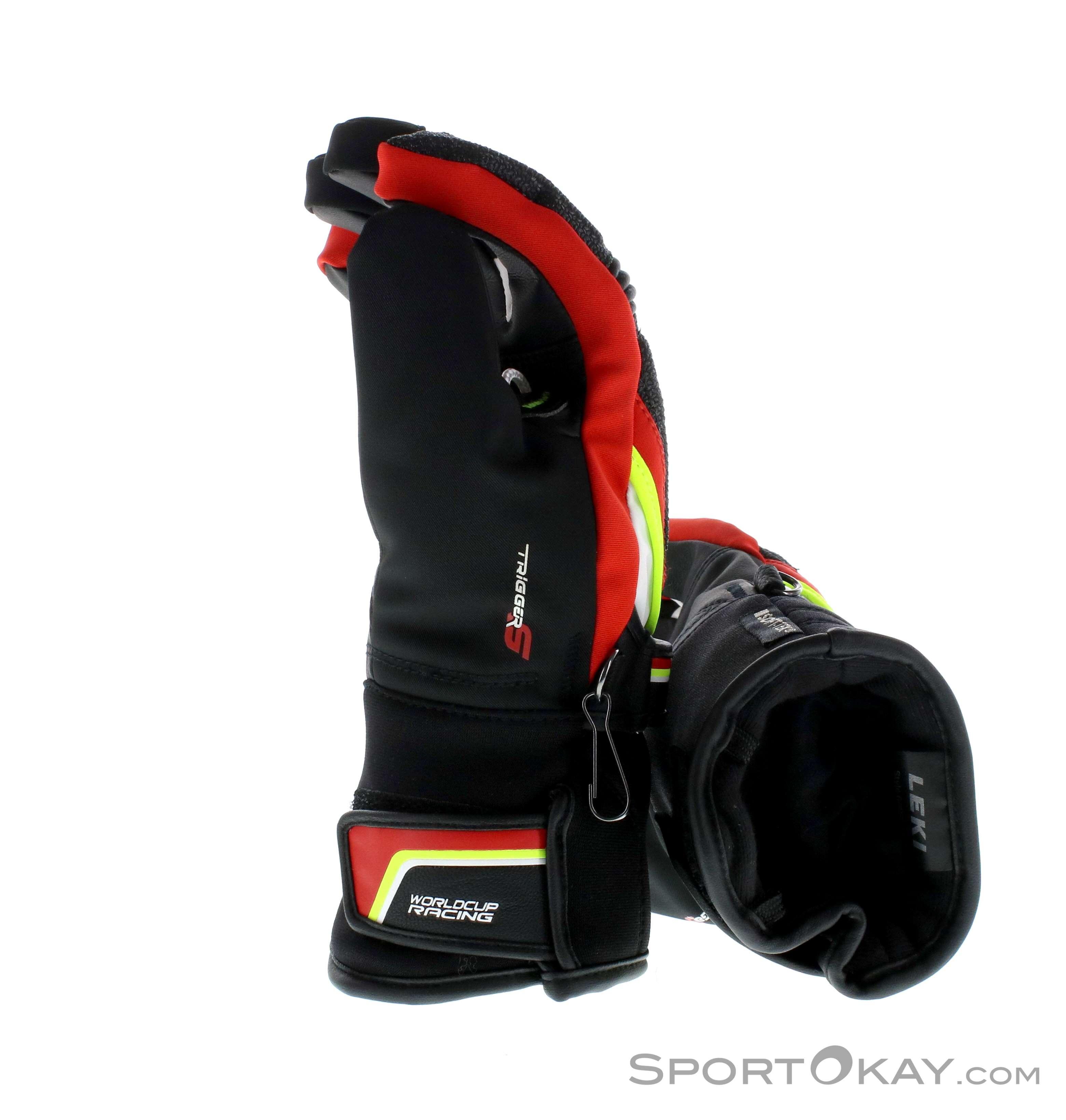 Jugend Handschuhe mit Trigger S Bekleidung Skisport & Snowboarding Leki Race Coach C-Tech S Junior