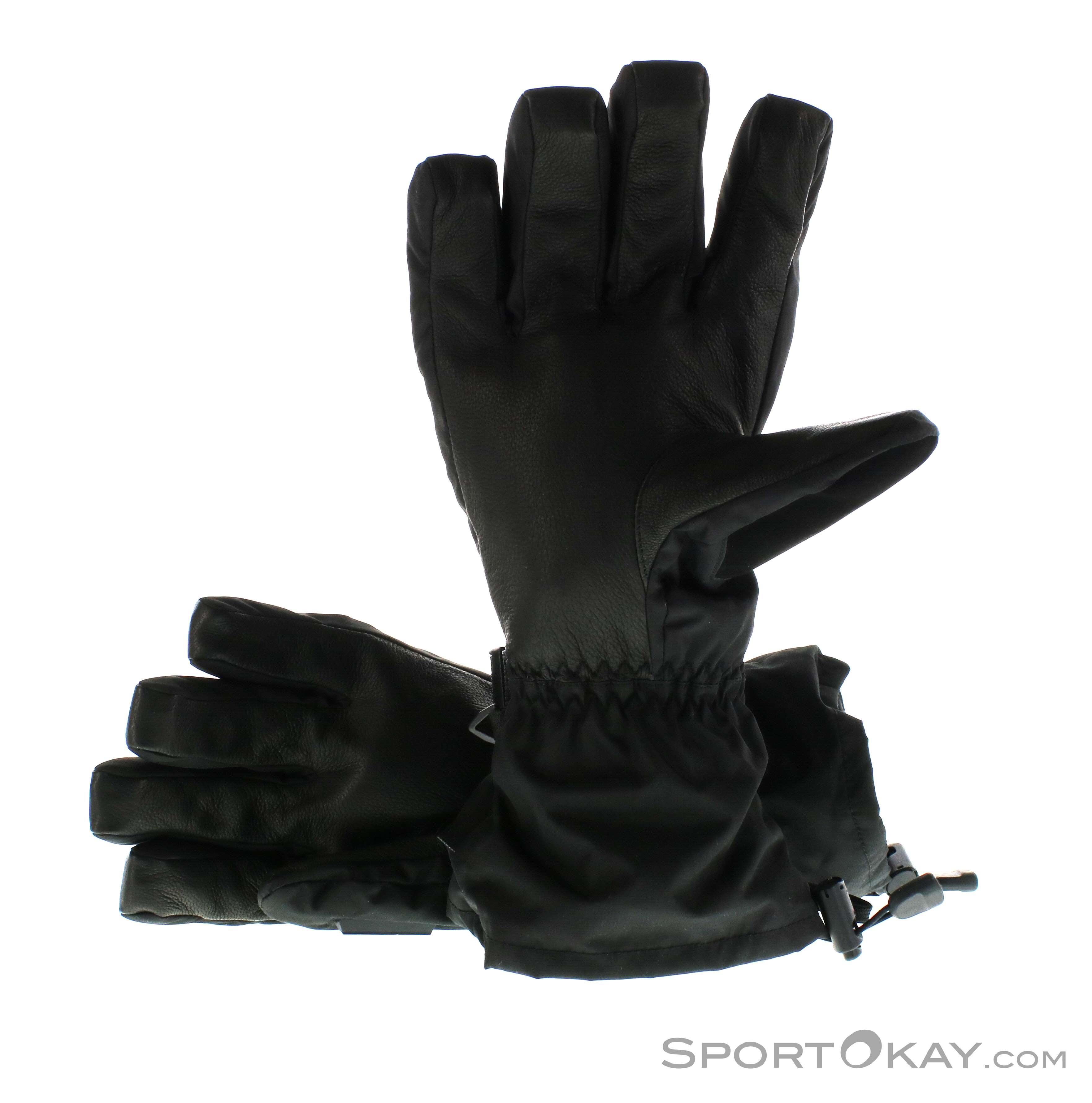 Dakine Scout Glove Leather Gloves Ski Clothing Black Male 0200 10147