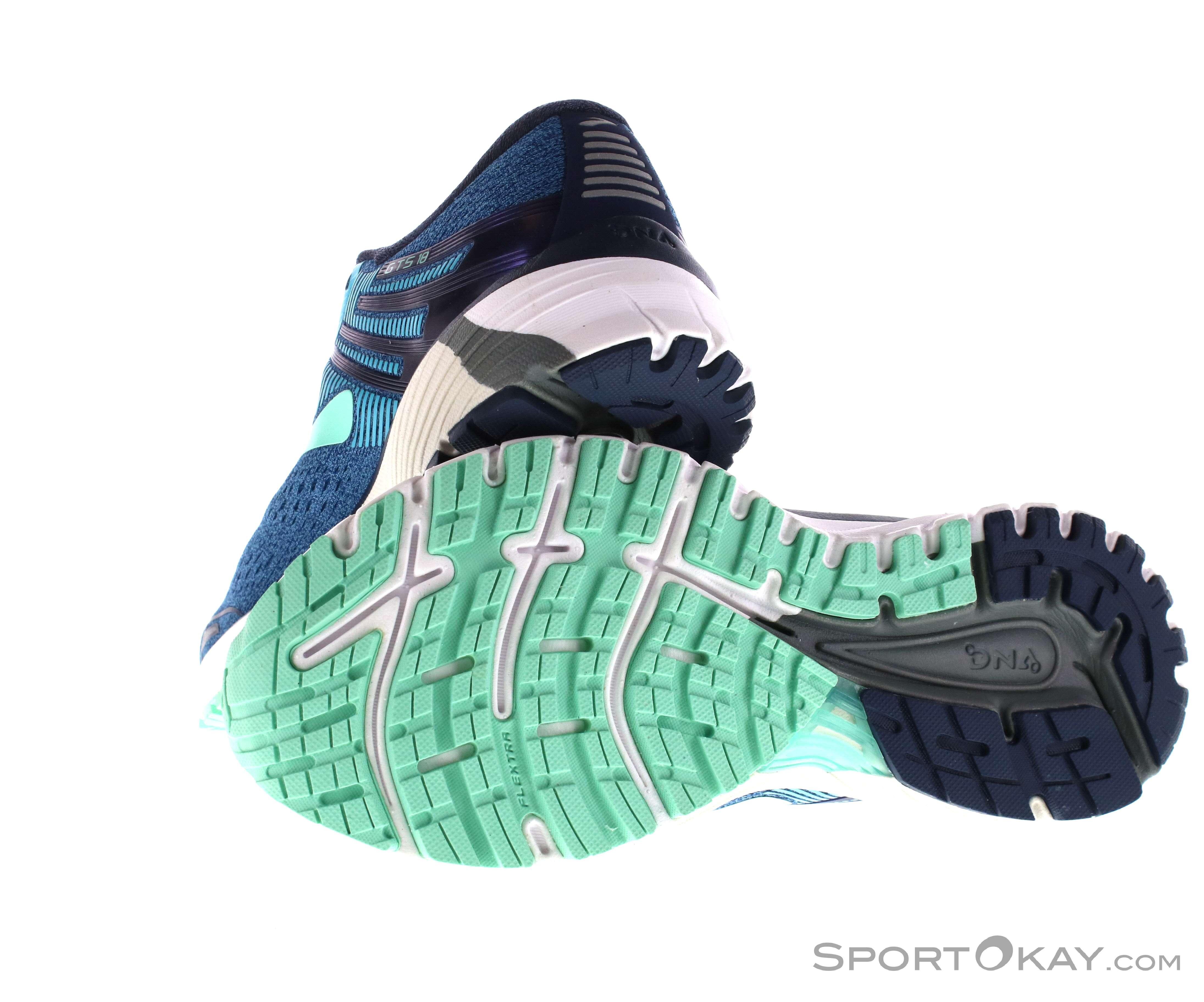 617e3a1a3f3 Brooks Adrenaline GTS 18 Damen Laufschuhe - Straßenlaufschuhe ...