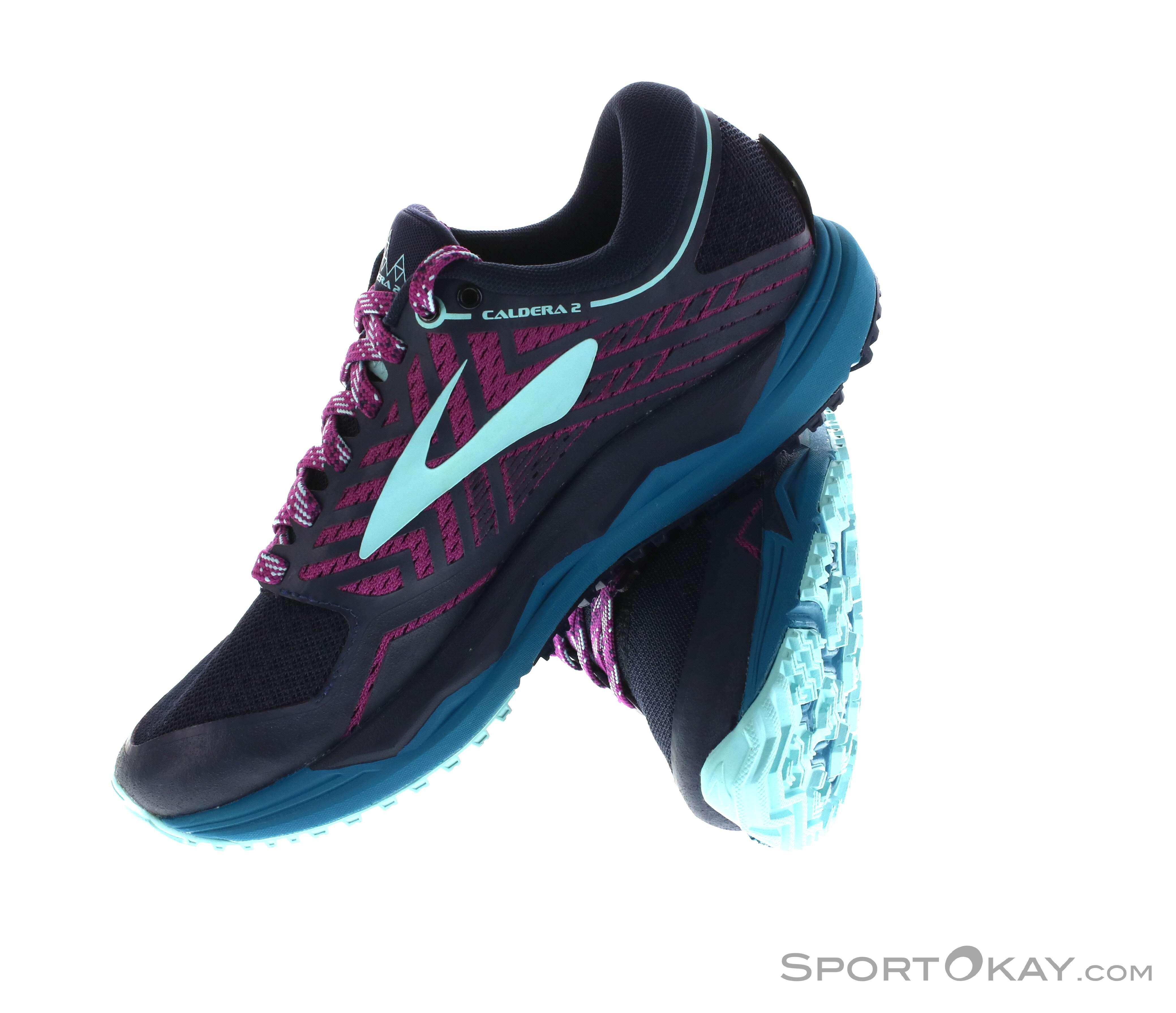 promo code c716f 44c68 Brooks Caldera 2 Womens Running Shoes