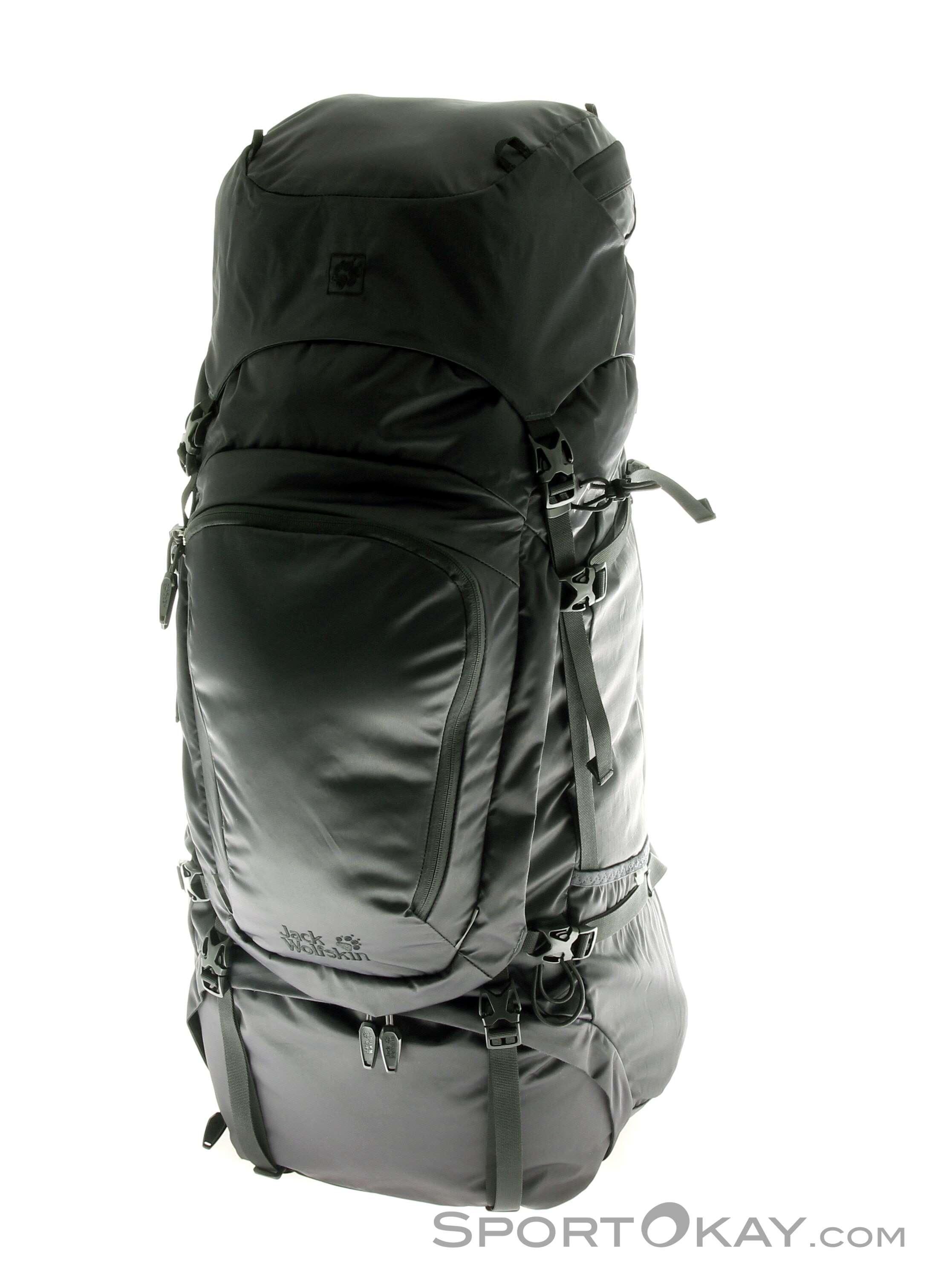 c6f758368b Jack Wolfskin Denali 65l Backpack, Jack Wolfskin, Black, , Male, 0230-