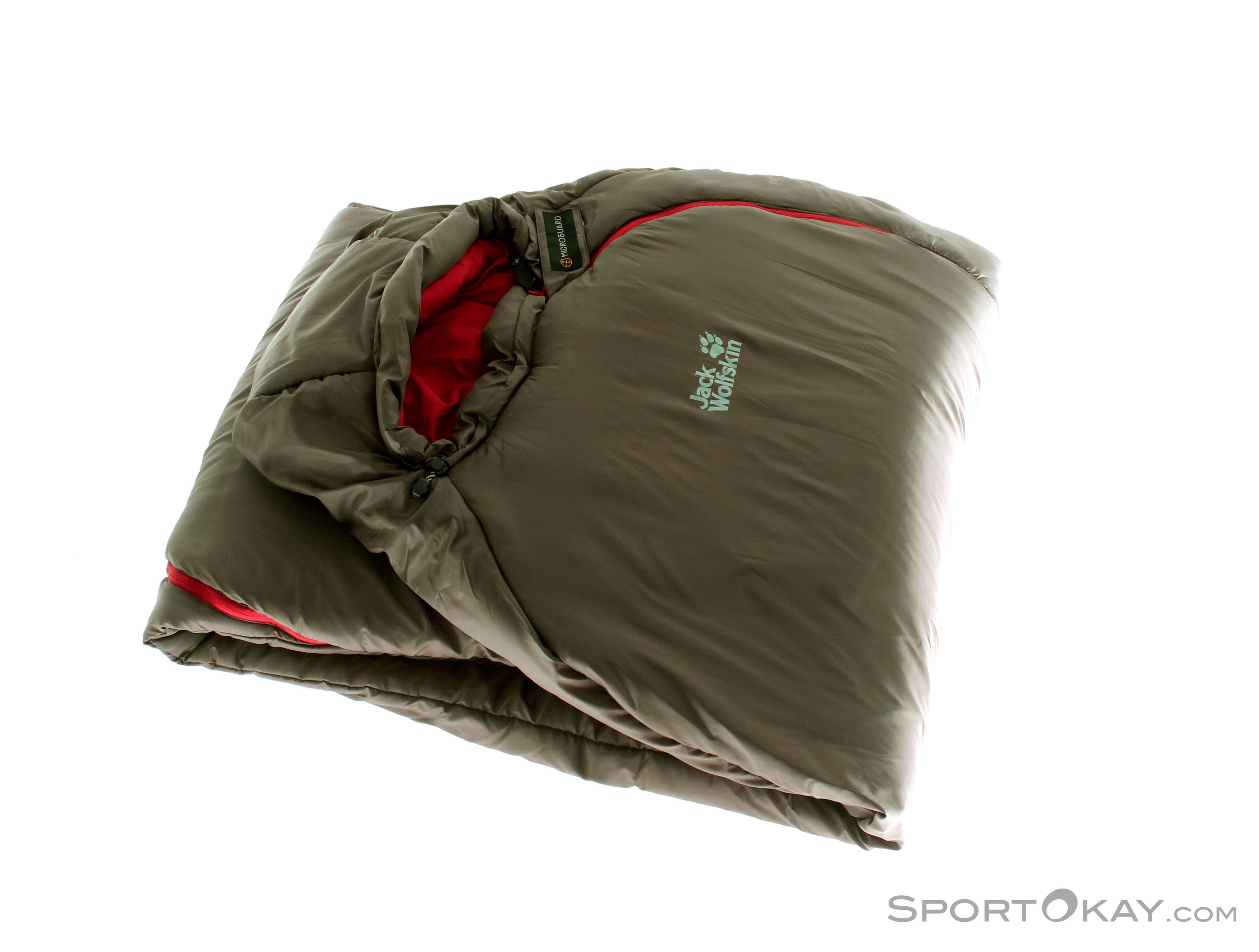 54009909fd8 Jack Wolfskin Smoozip 7 Womens Sleeping Bag, Jack Wolfskin, Brown, , Female,