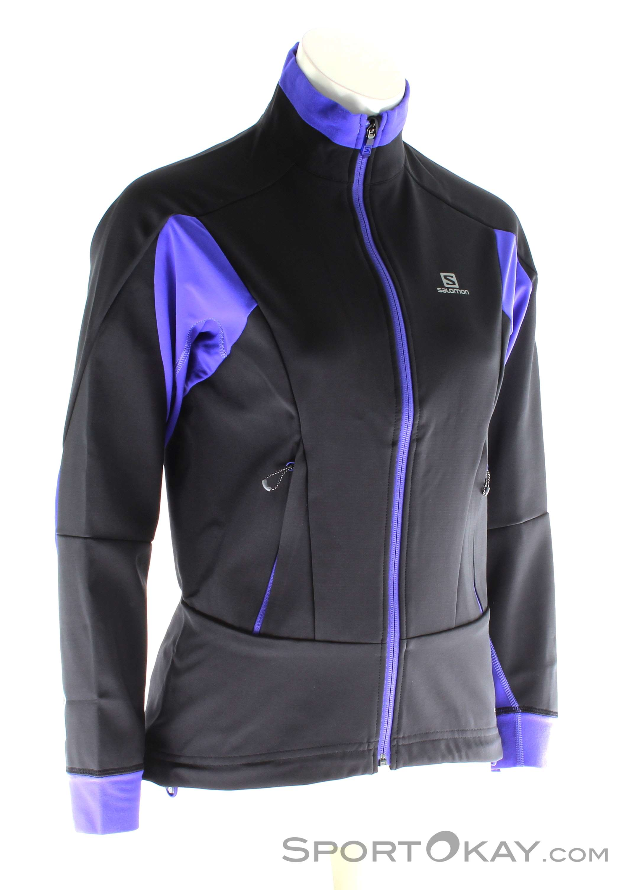 Salomon Salomon Momentum Softshell Womens Outdoor Sweater