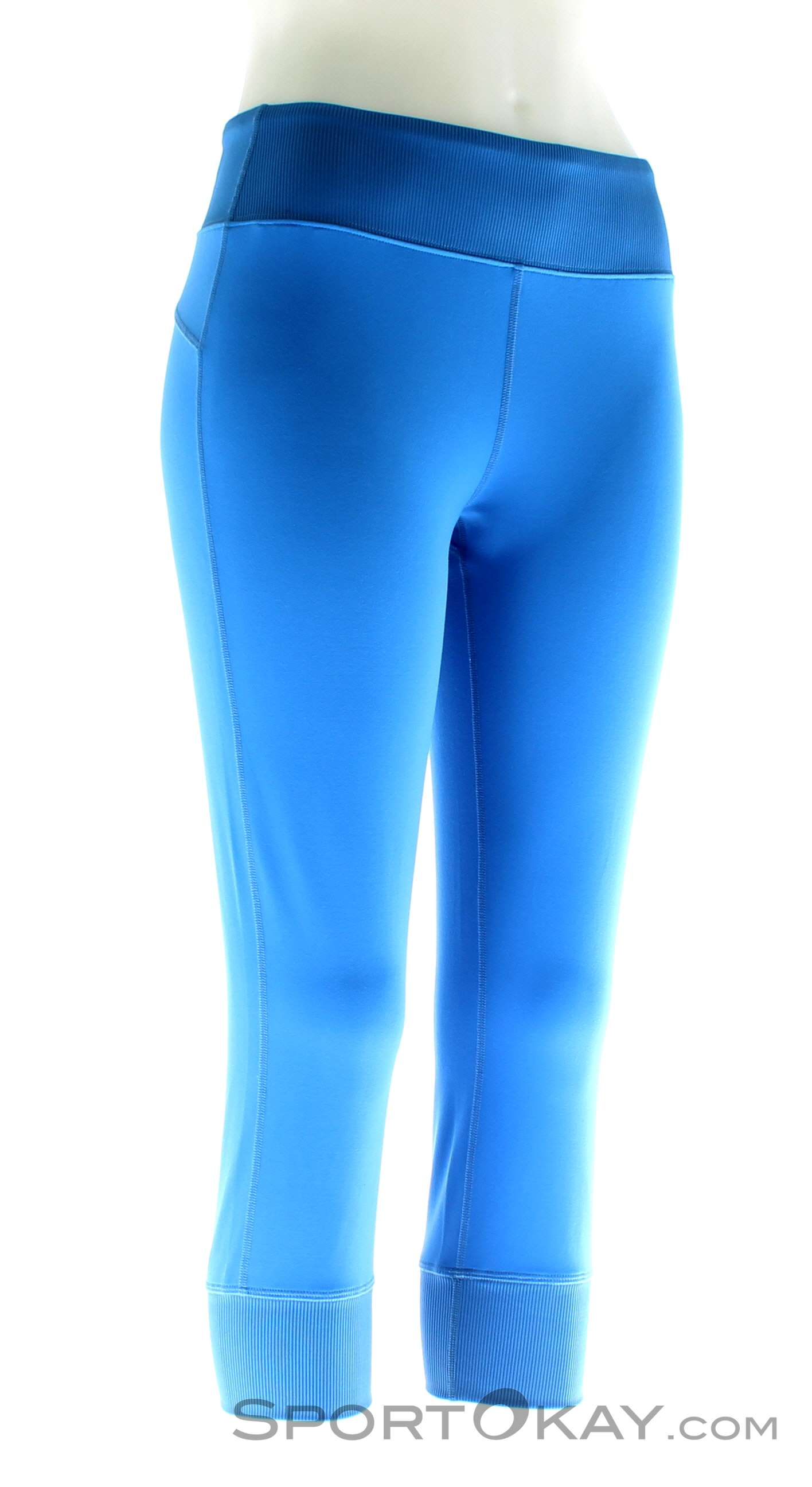 Black Diamond Levitation Capris Damen Kletterhose, Black Diamond, Blau, , Damen, 0056-10609, 5637580029, 793661299363, N1-01.jpg