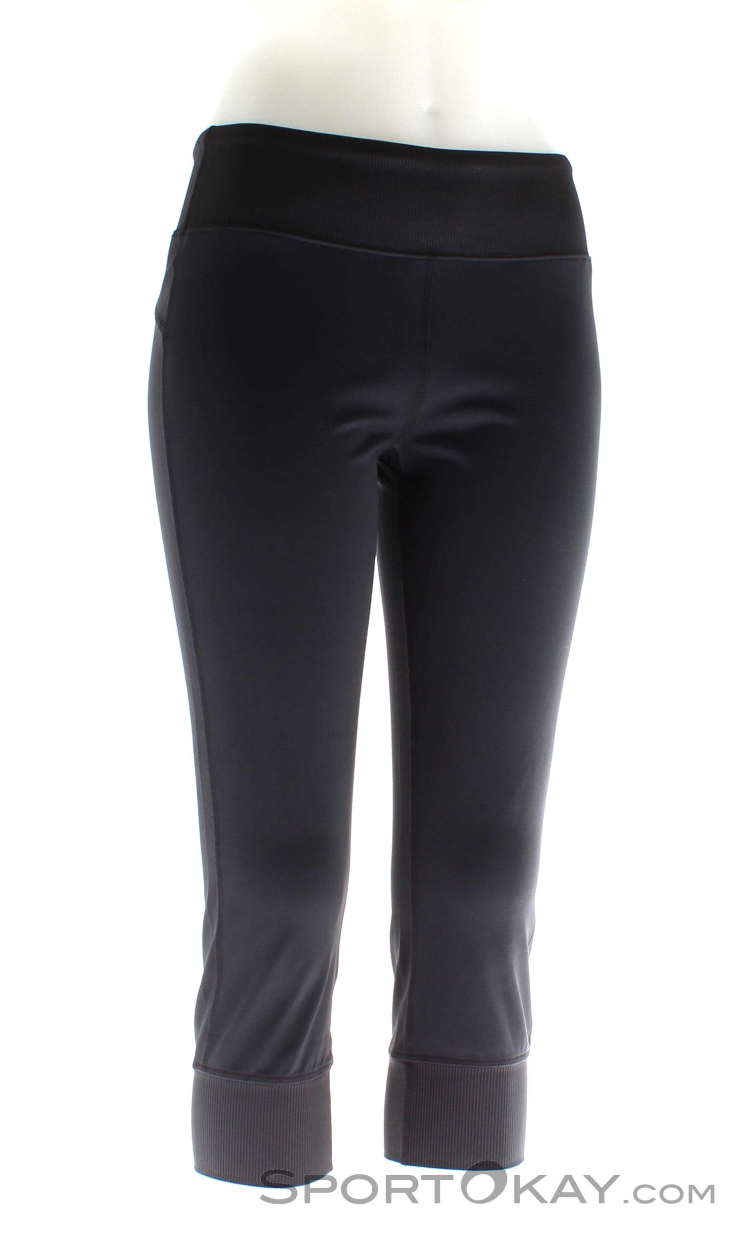 Black Diamond Levitation Capris Damen Kletterhose, Black Diamond, Schwarz, , Damen, 0056-10609, 5637580031, 793661299318, N1-01.jpg