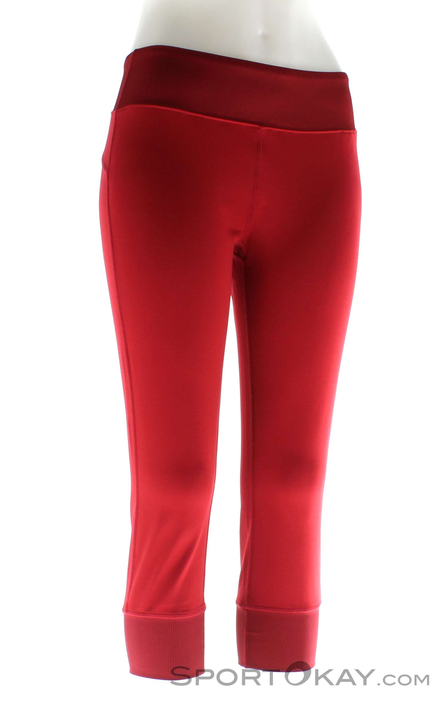 Black Diamond Levitation Capris Damen Kletterhose, Black Diamond, Rot, , Damen, 0056-10609, 5637580033, 793661299448, N1-01.jpg