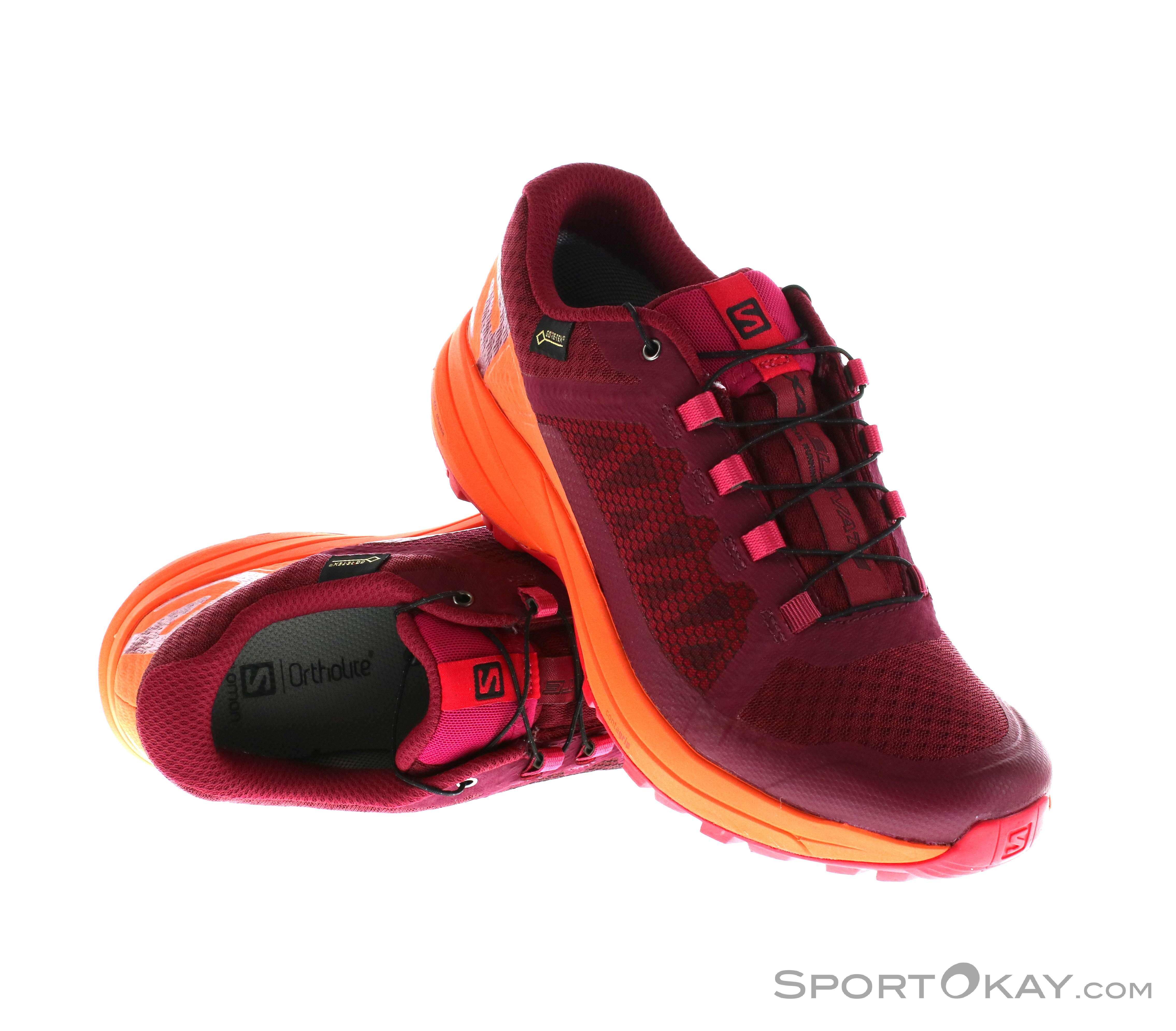Salomon XA Elevate GTX Womens Trail Running Shoes Gore Tex