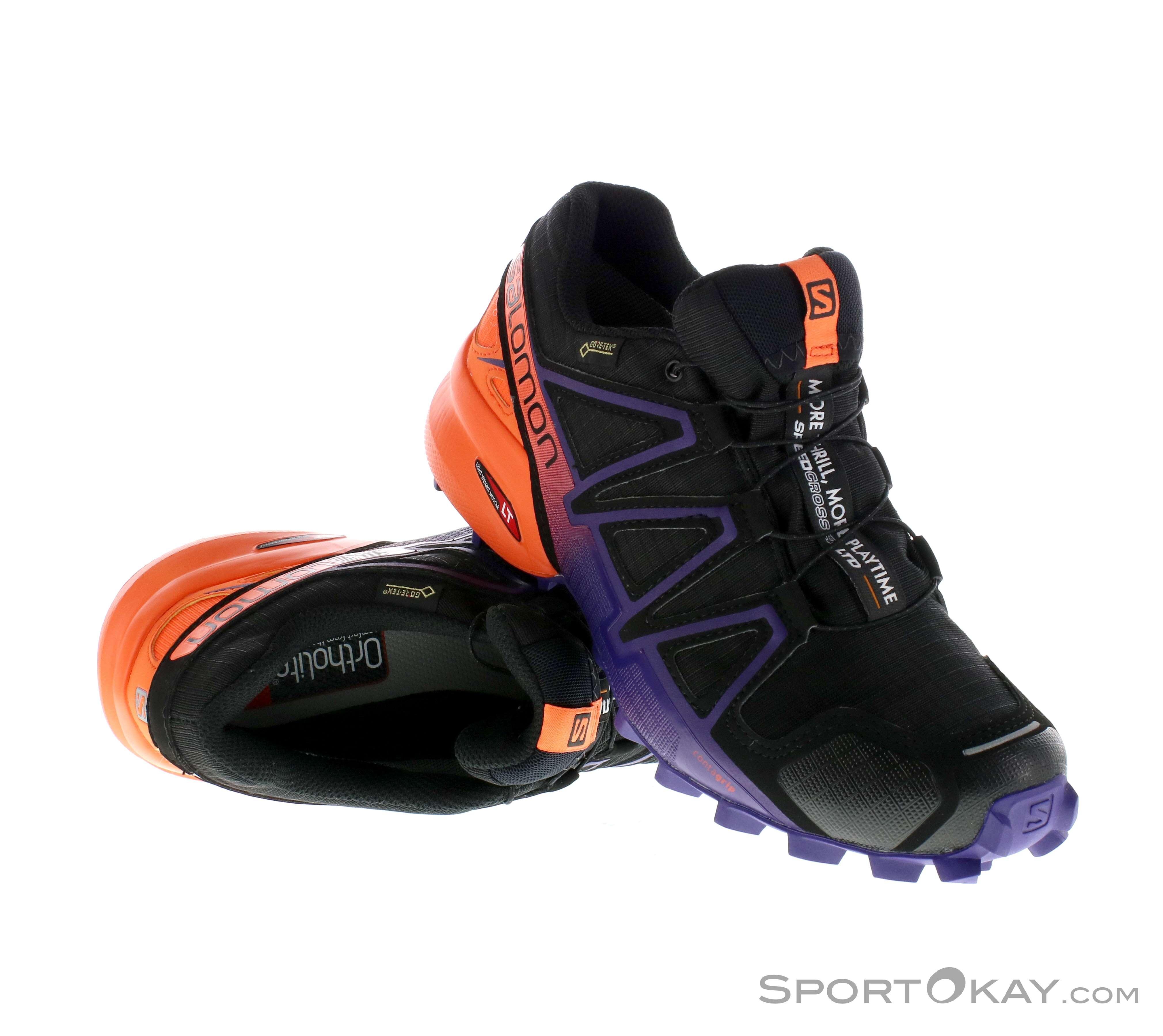 6c10f0a0fdaae8 Salomon Speedcross 4 GTX Damen Traillaufschuhe Gore-Tex ...