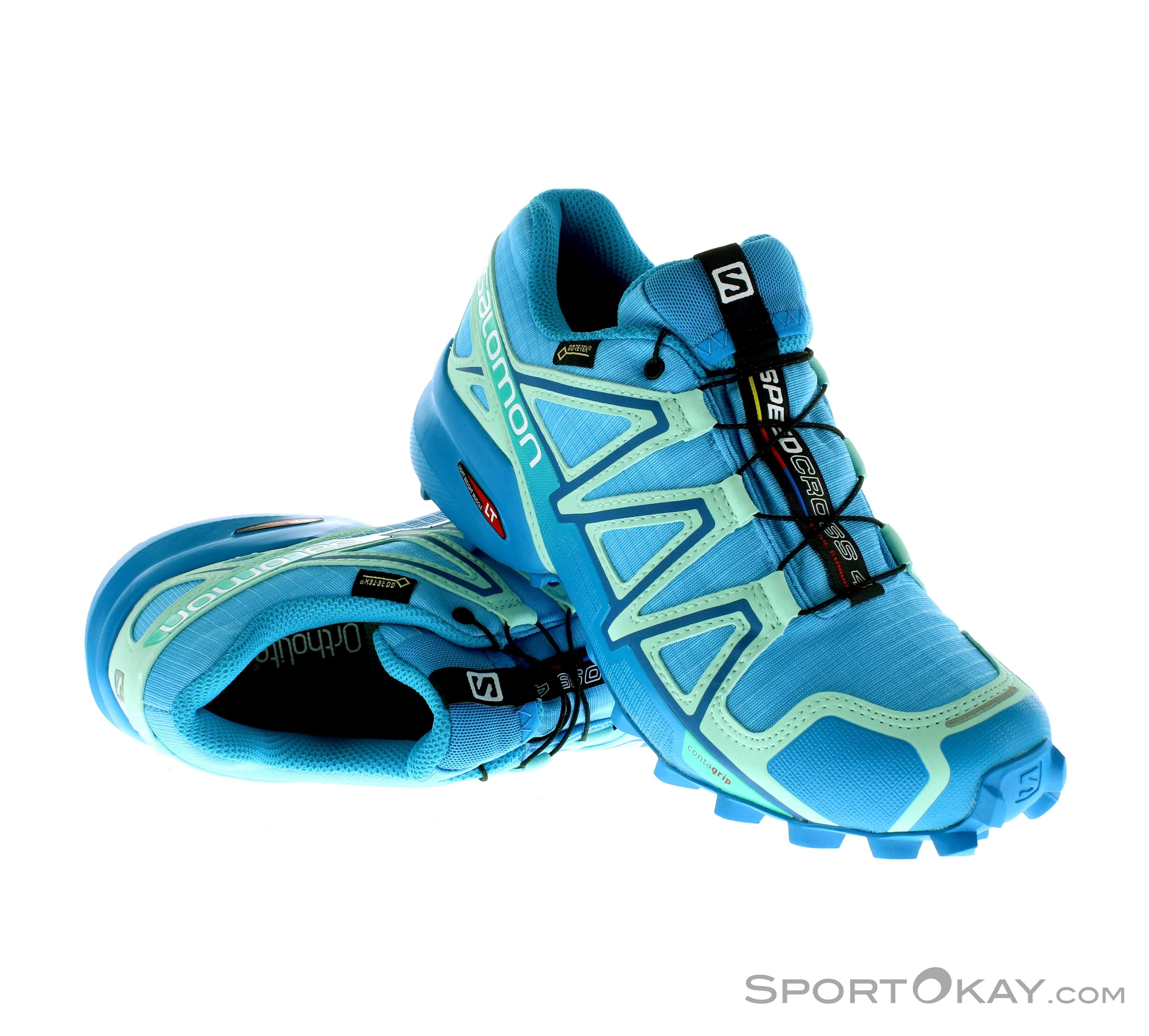 Salomon Salomon Speedcross 4 Womens Running Shoes Gore Tex