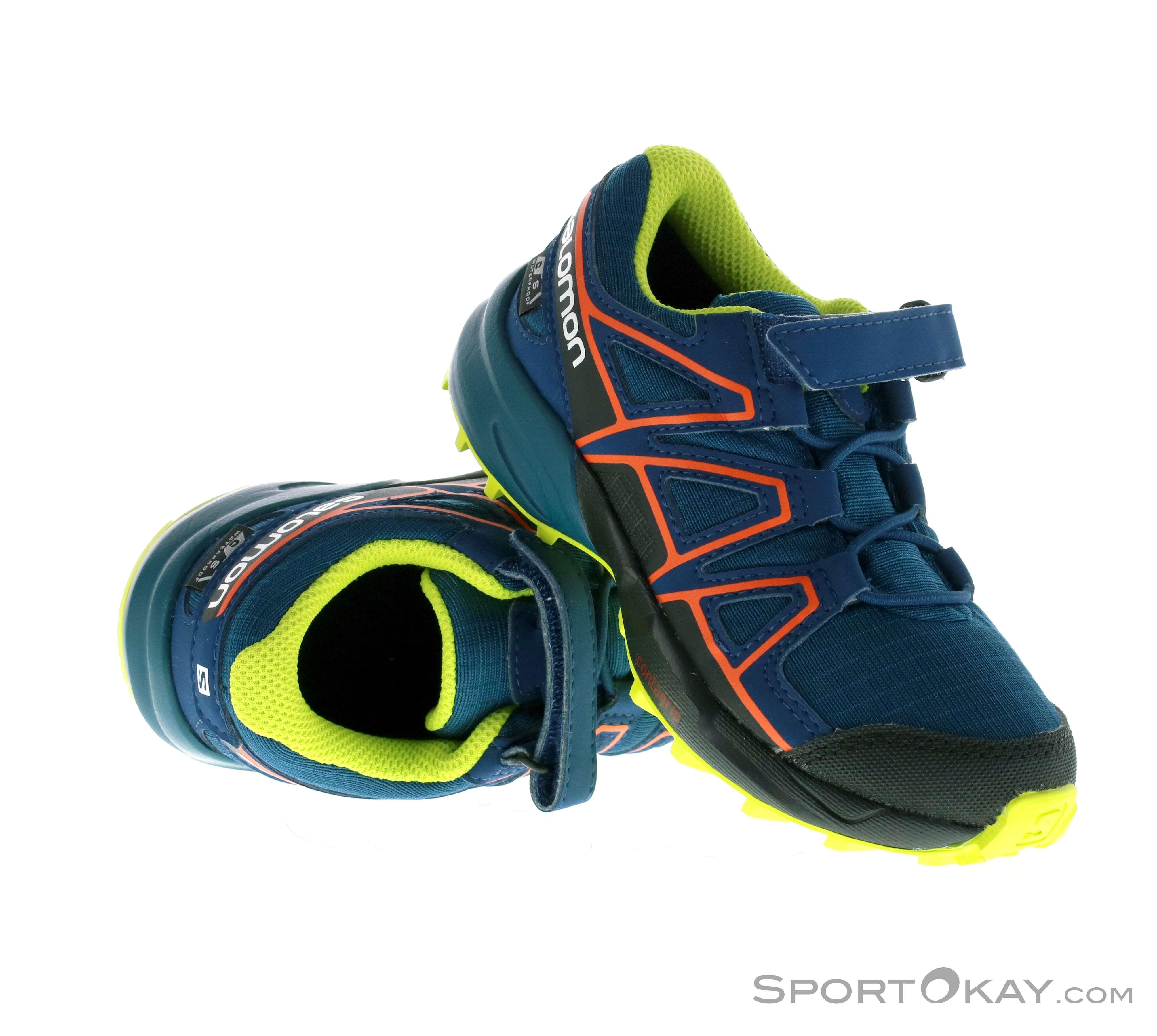 Salomon Salomon Speedcross CSWP K Kids Trail Running Shoes