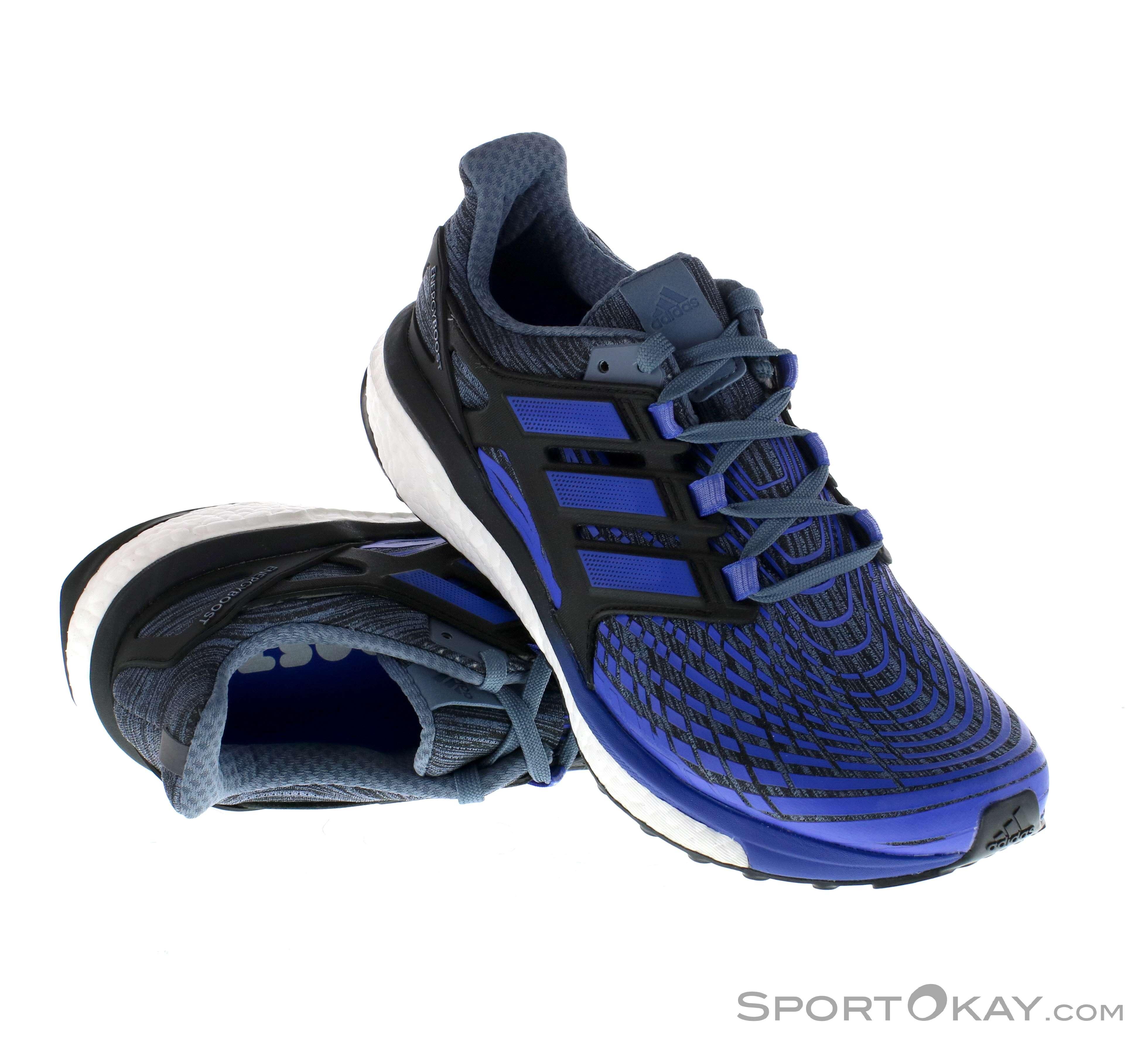 quality design 7f3f5 91150 adidas Energy Boost Uomo Scarpe da Corsa , adidas, Nero, , Uomo, 0002