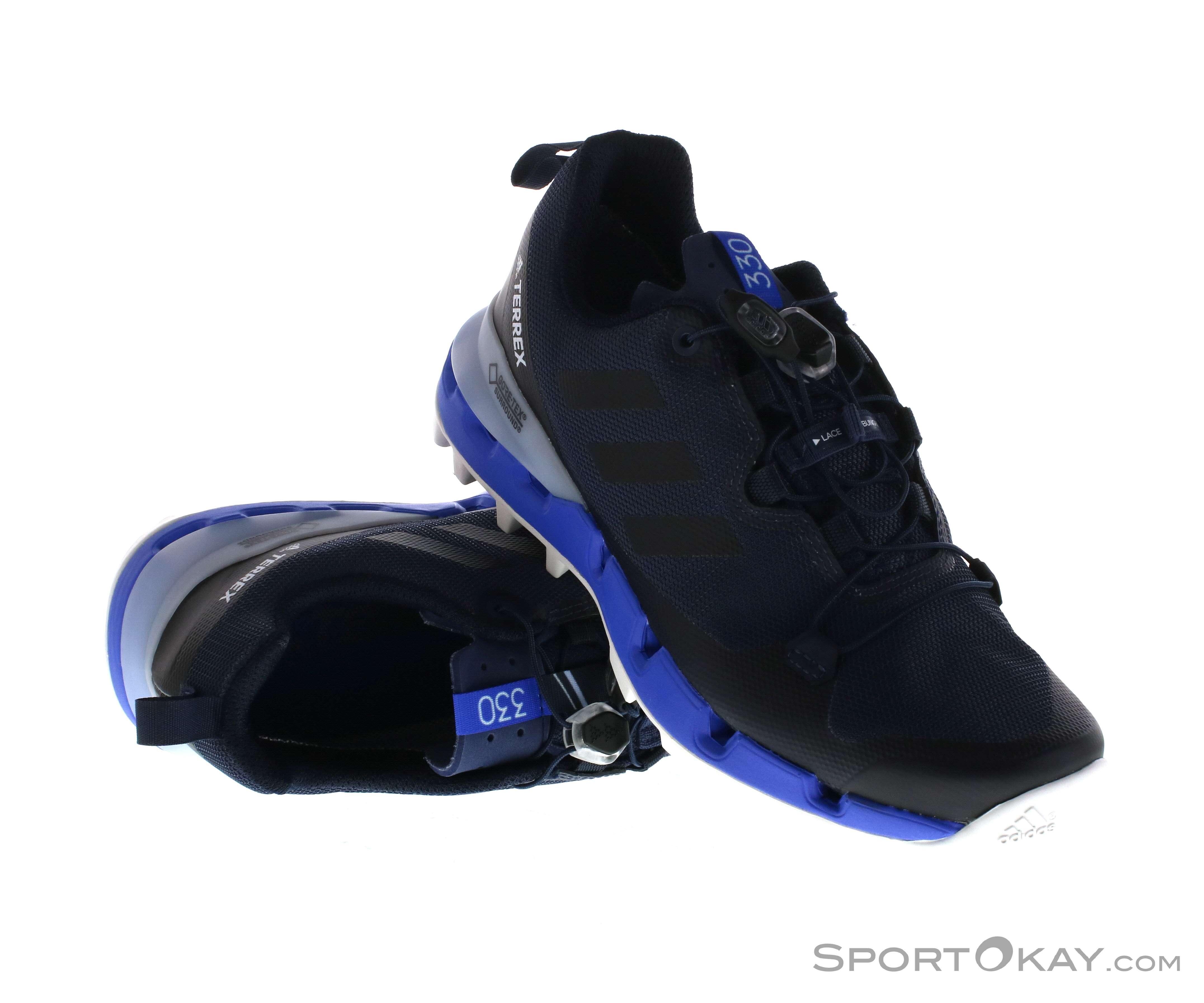 trekkingschuhe adidas 43 blau