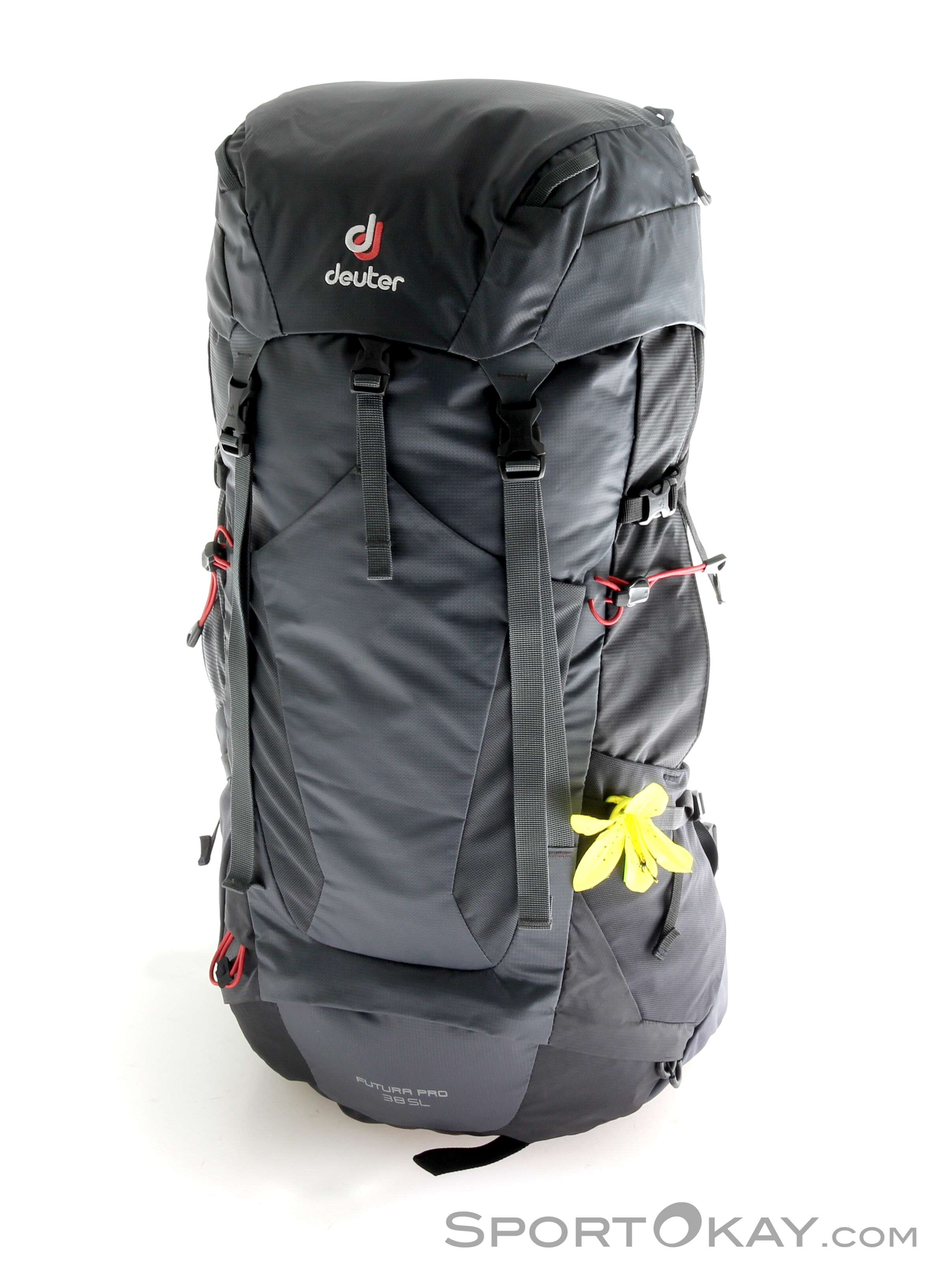 1508cca6 Deuter Futura Pro 38l SL Womens Backpack, Deuter, Black, , Female, 0078