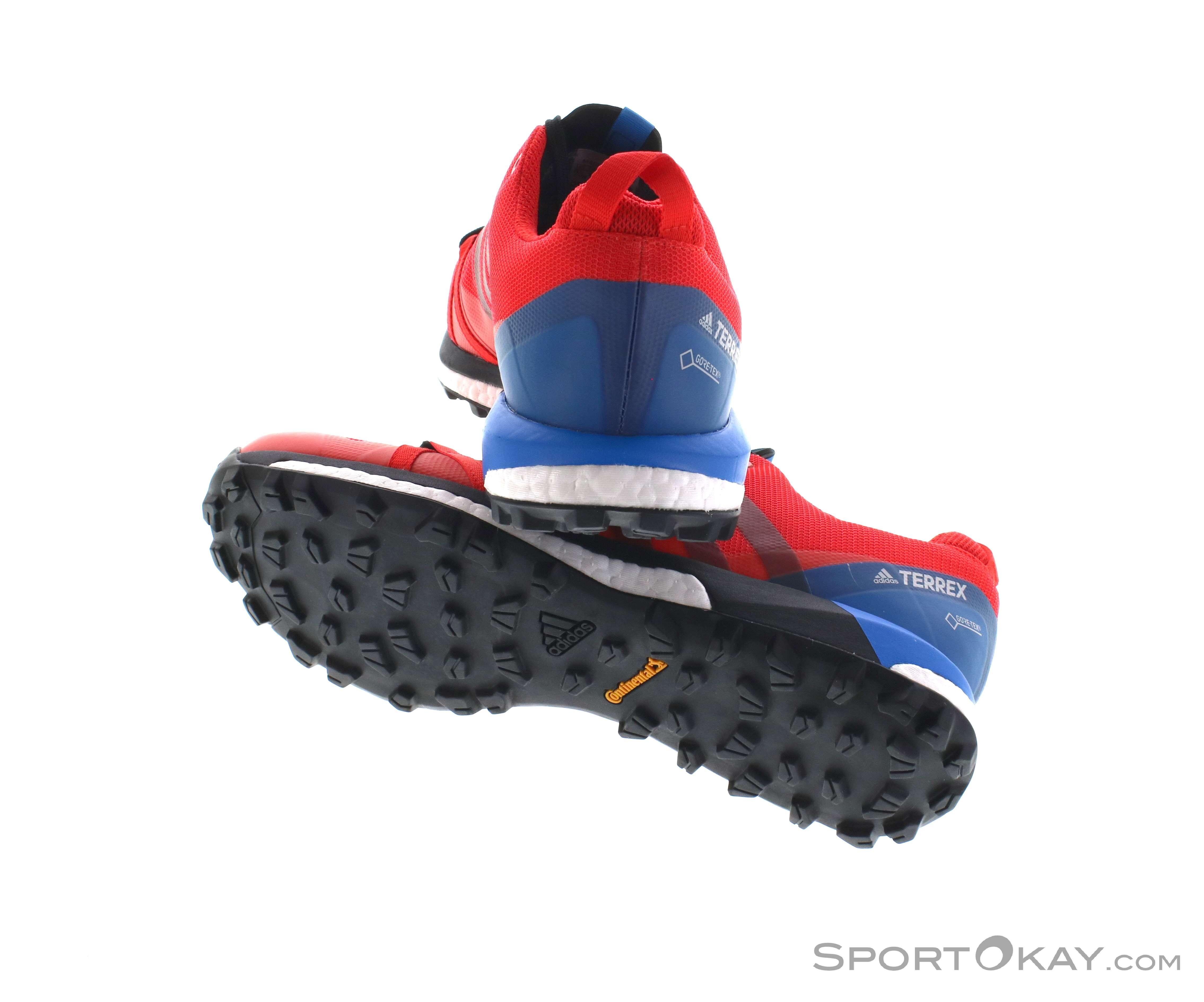 timeless design 4dec4 d13ae adidas Terrex Agravic Uomo Scarpe da Trekking Gore-Tex, adidas, Rosso, ,