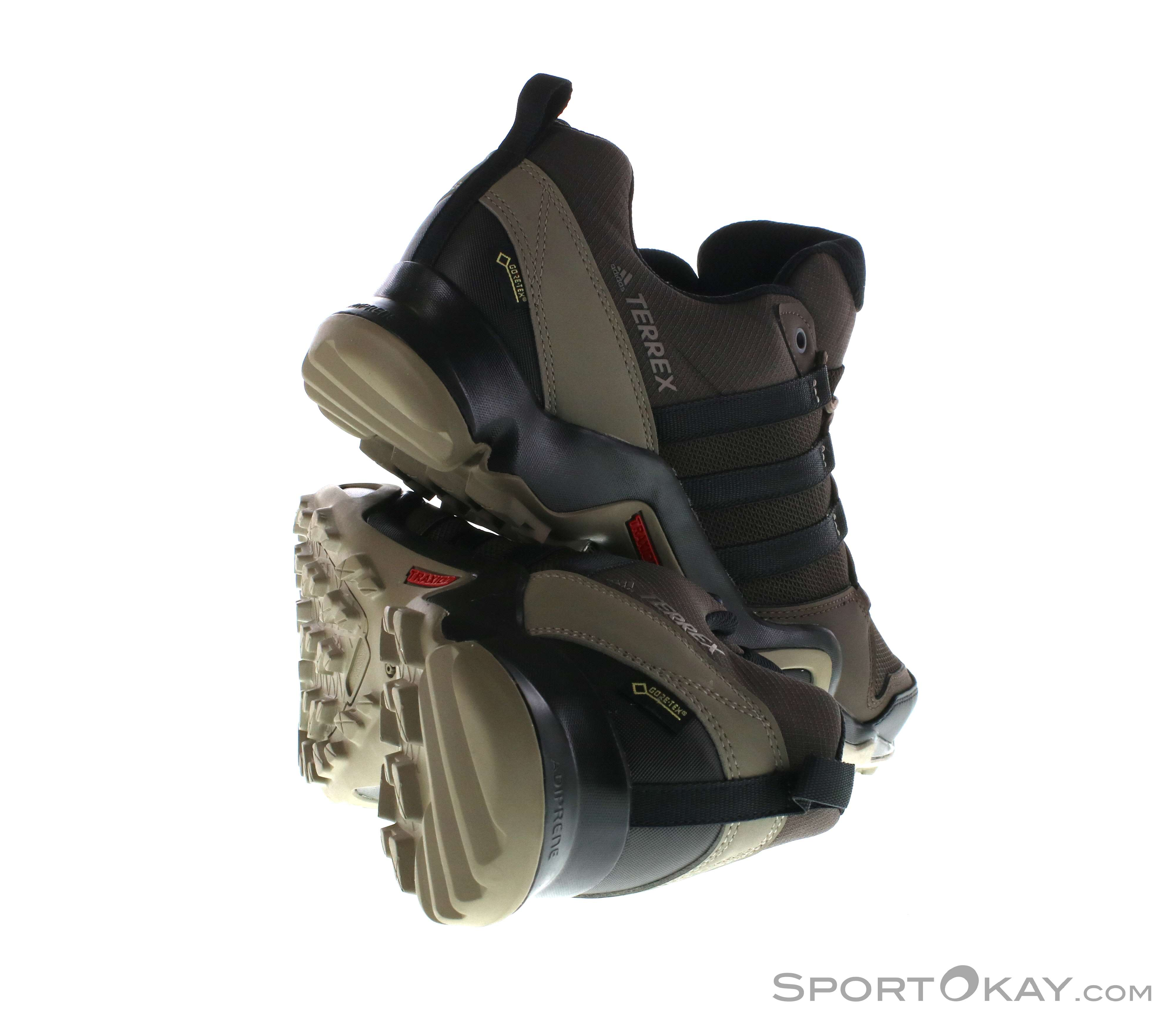 adidas Terrex AX2R GTX Mens Trekking Shoes Gore-Tex - Trekking Shoes ... 1d3dbaf572a