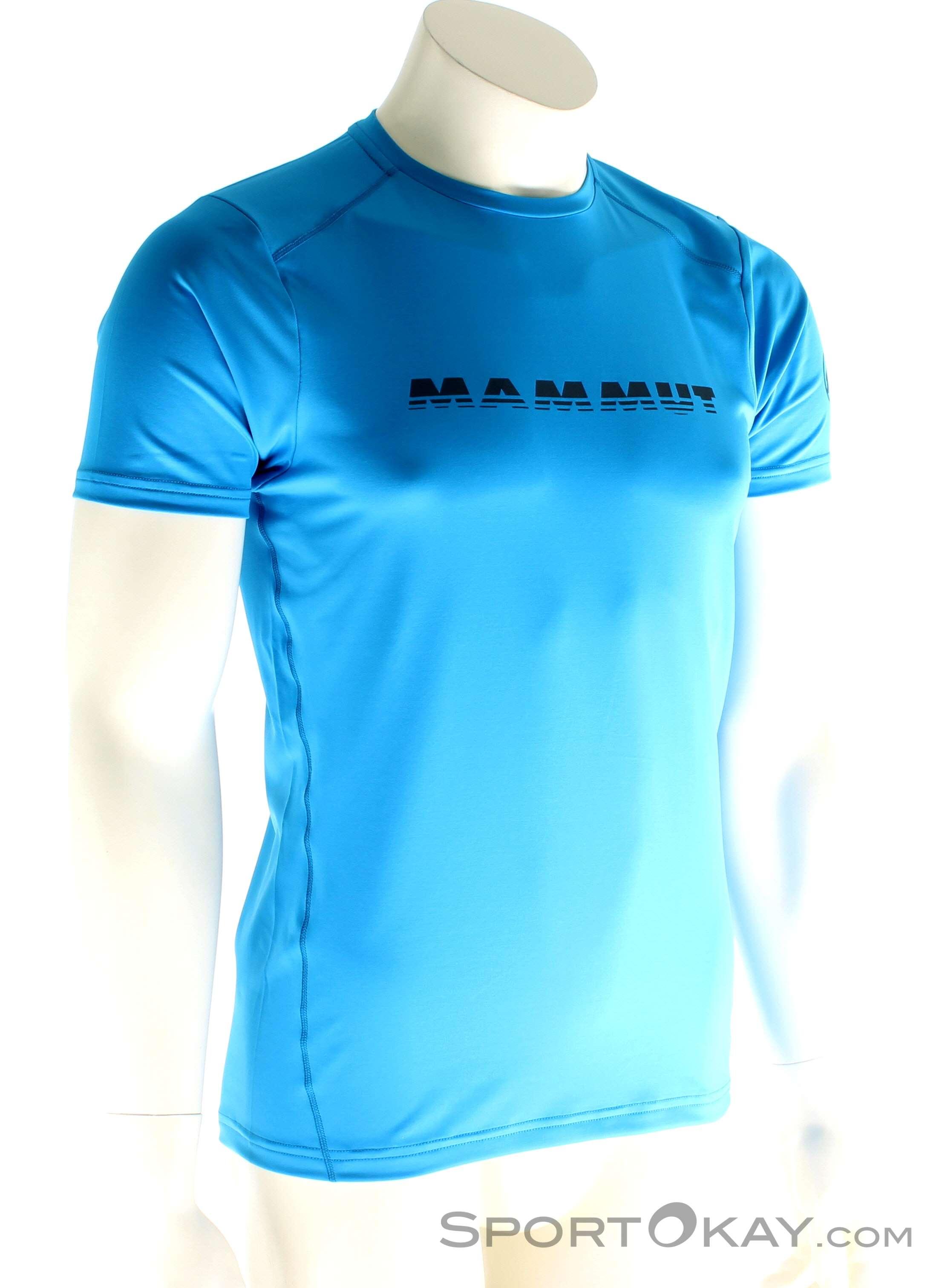 MAMMUT T-Shirt Mammut Logo T-Shirt Rot Weitere Sportarten