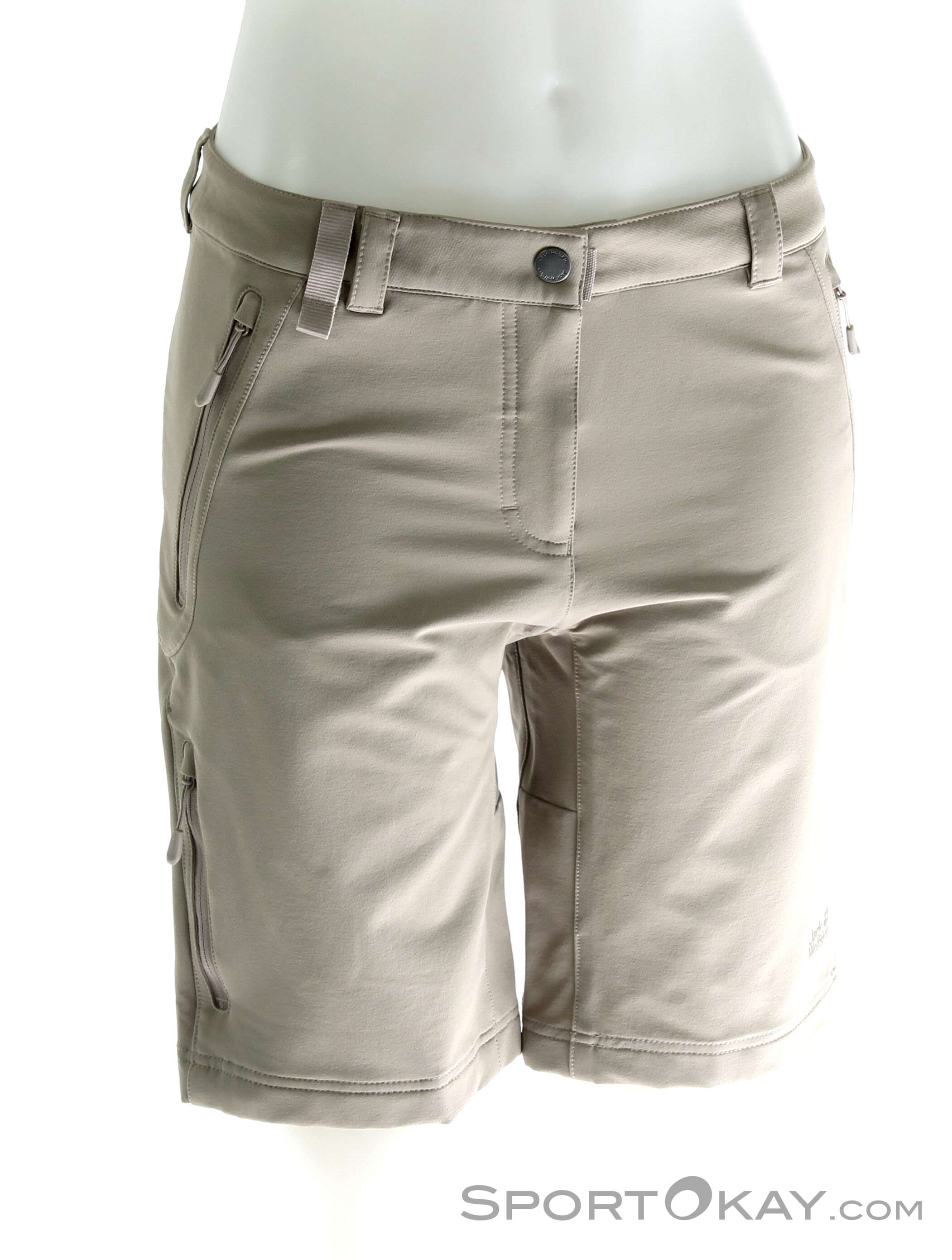 Pants Track Wolfskin Outdoor Activate Jack Womens Short Yfgv76by
