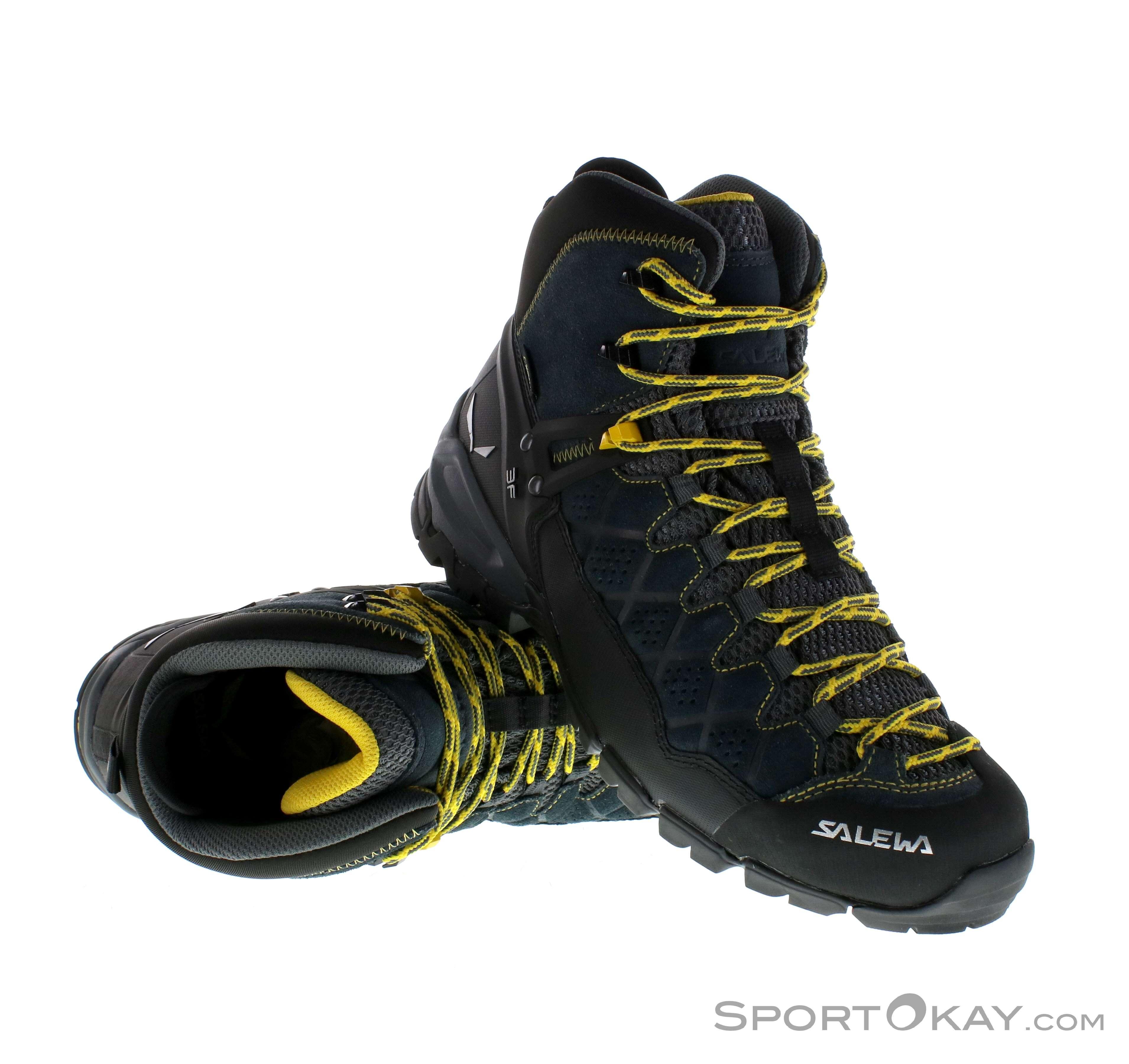 Alp Tex Mens 0nmn8w Gtx Salewa Gore Trekking Mid Trainer Shoes LAjq354R