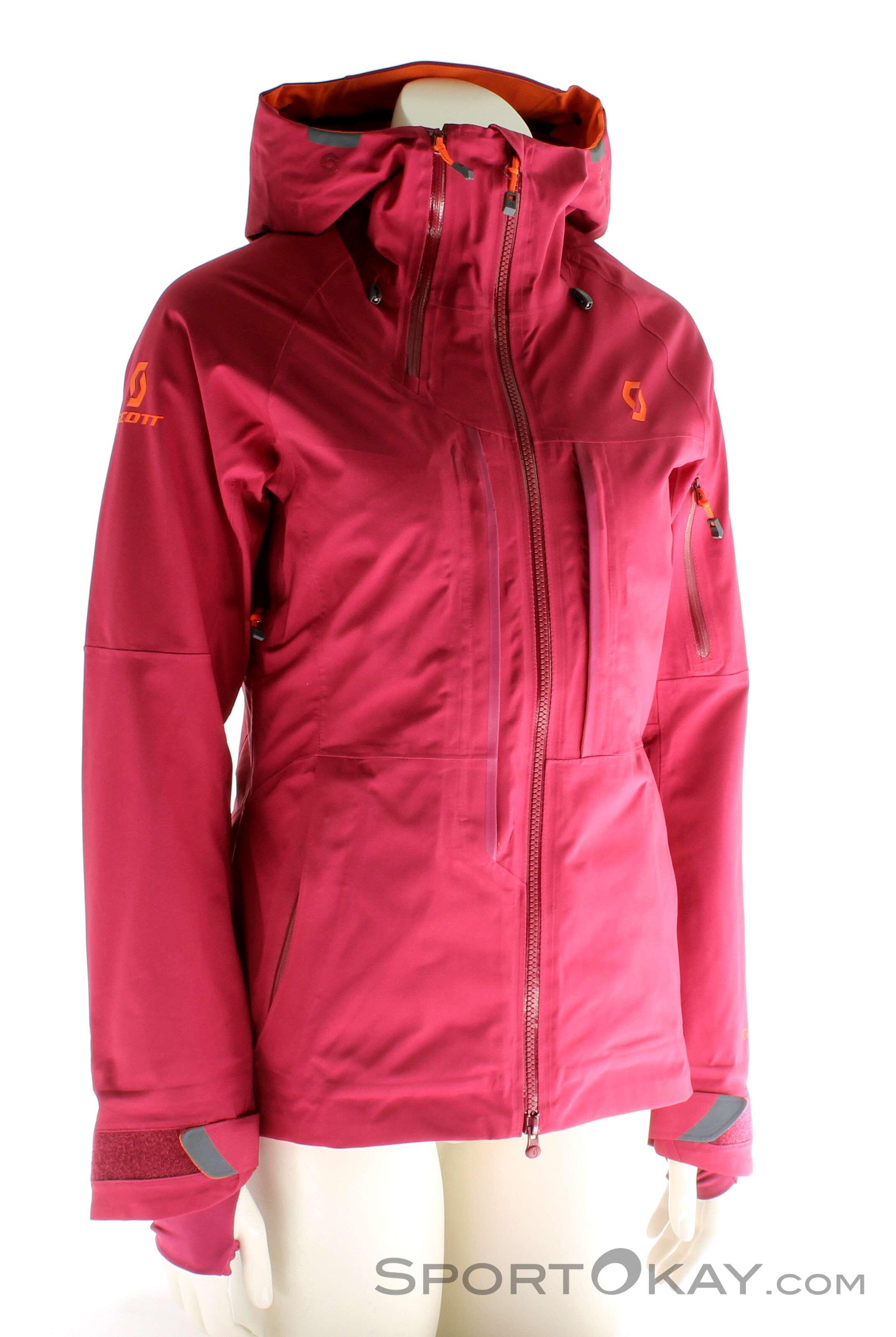 Scott Ultimate GTX Womens Ski Touring Jacket Gore Tex Ski 6S82D