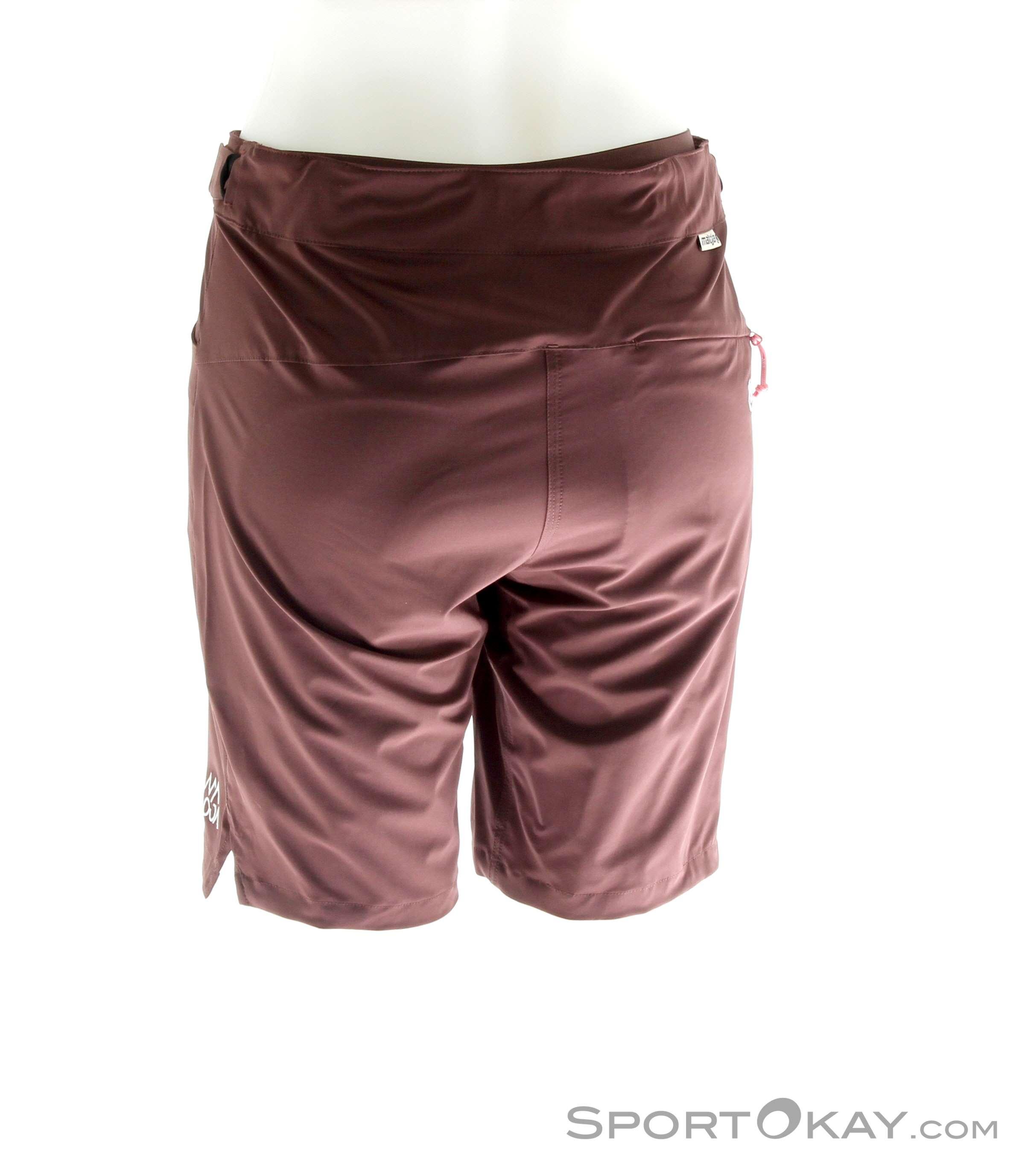 Pantaloncini da Ciclismo Maloja Vielm.Bib da Uomo