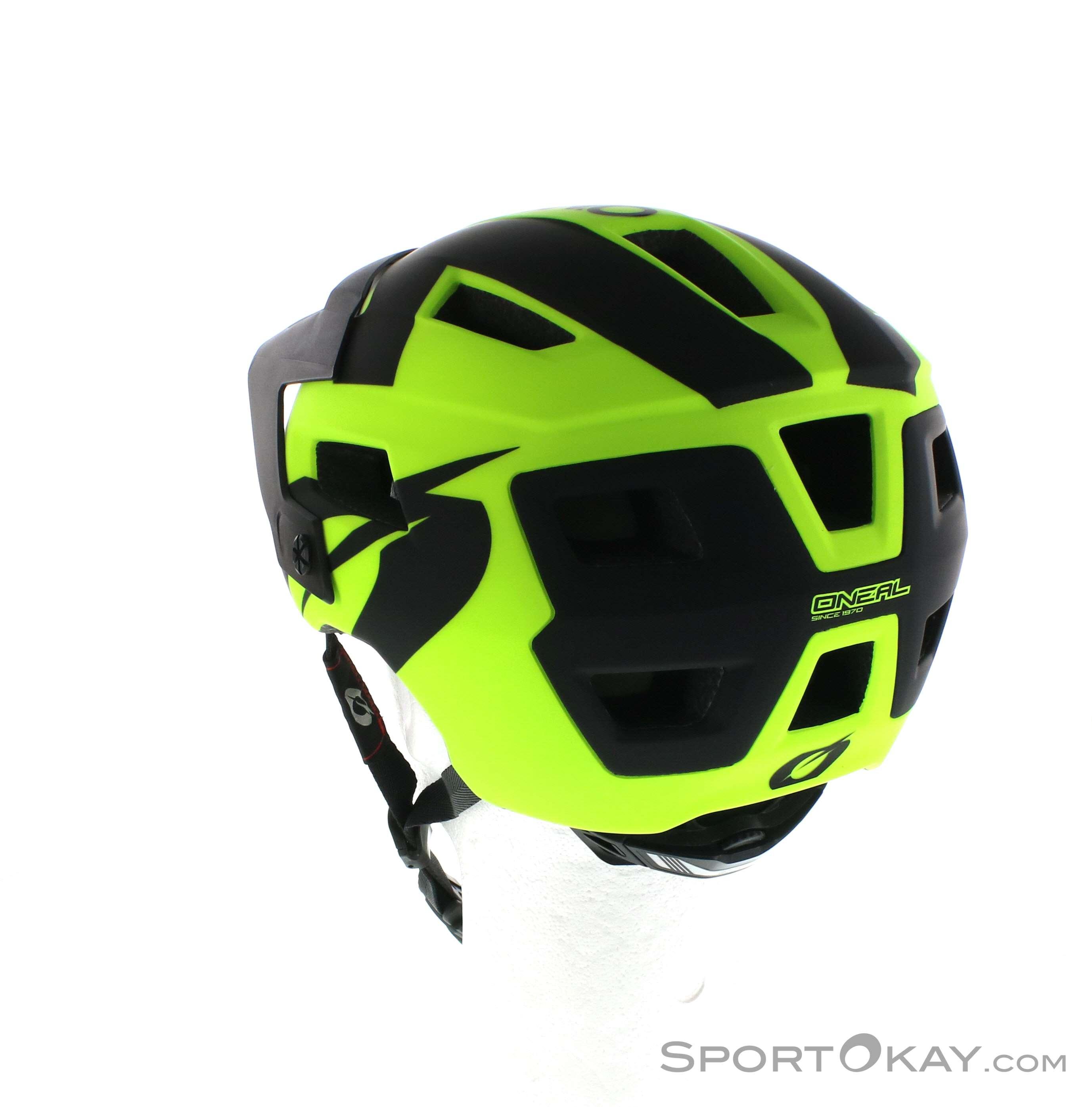 Oneal Defender 2.0 Slovakia Mountain Bike Helmet 2018 Orange Teal MTB Enduro