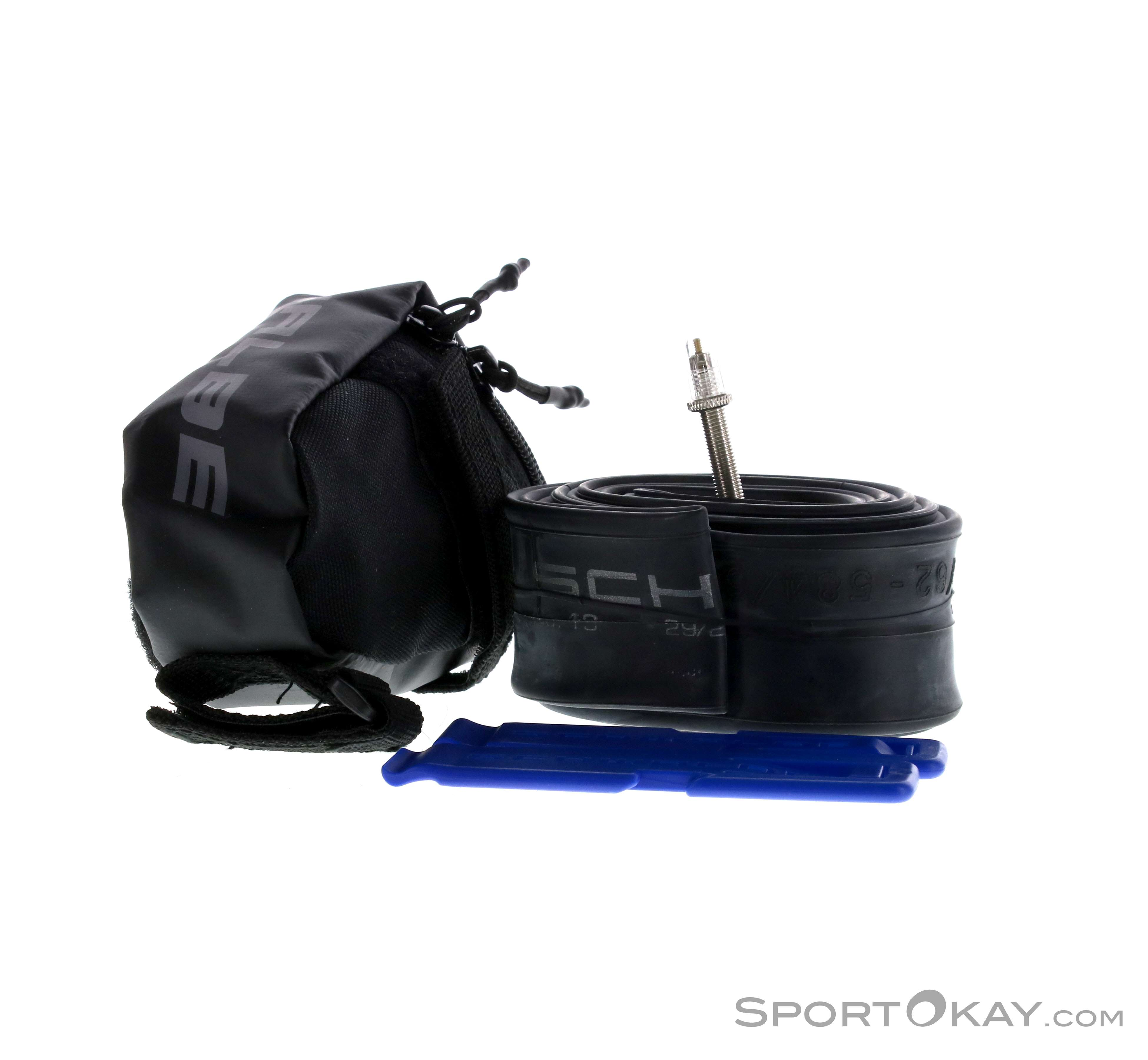 60m Continental Saddle Bag With Presta Inner Tube /& Tyre Levers Road Version