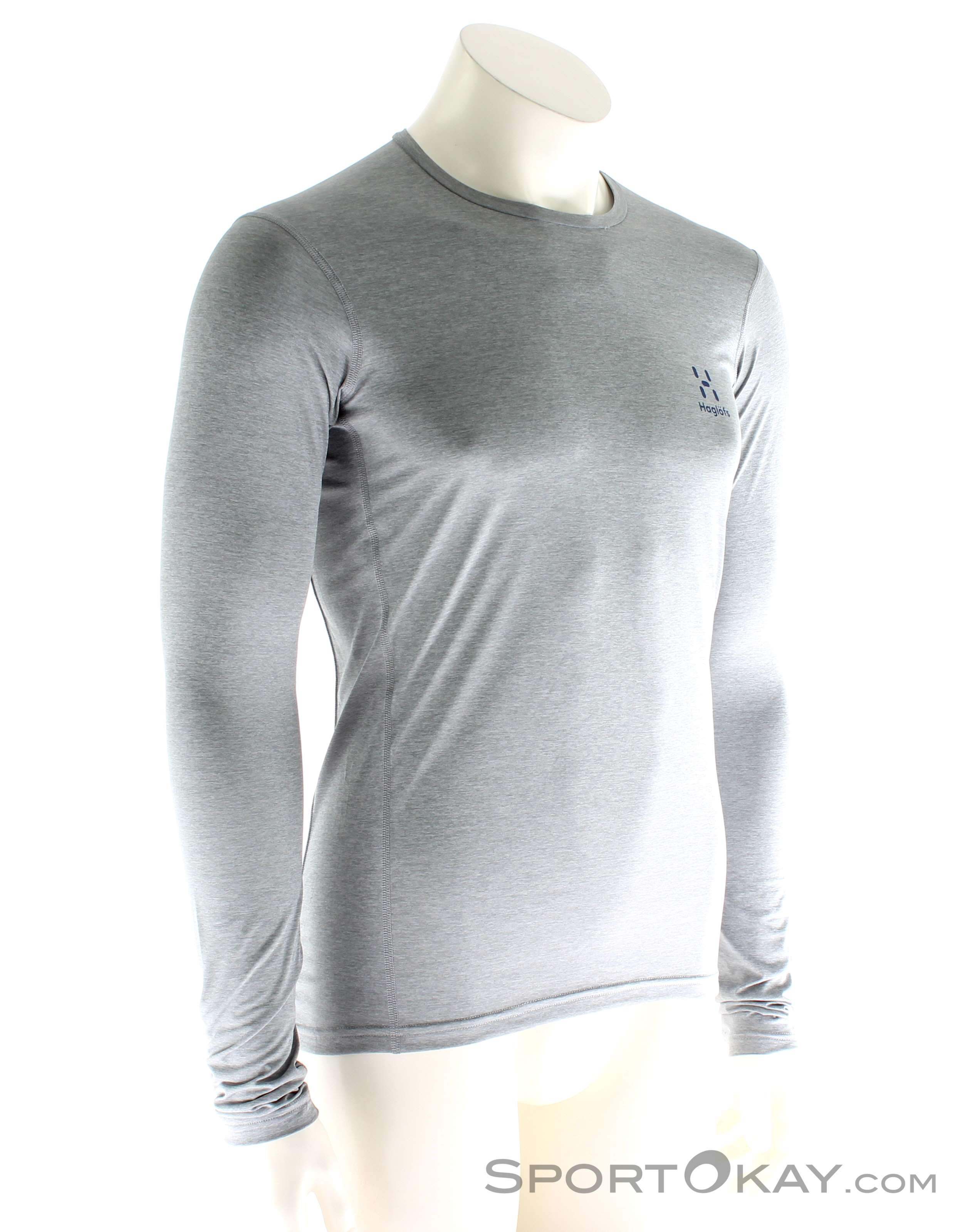 T magliette Abbigliamento Maglia Uomo Haglöfs Ridge amp; Shirt LS OqwIT
