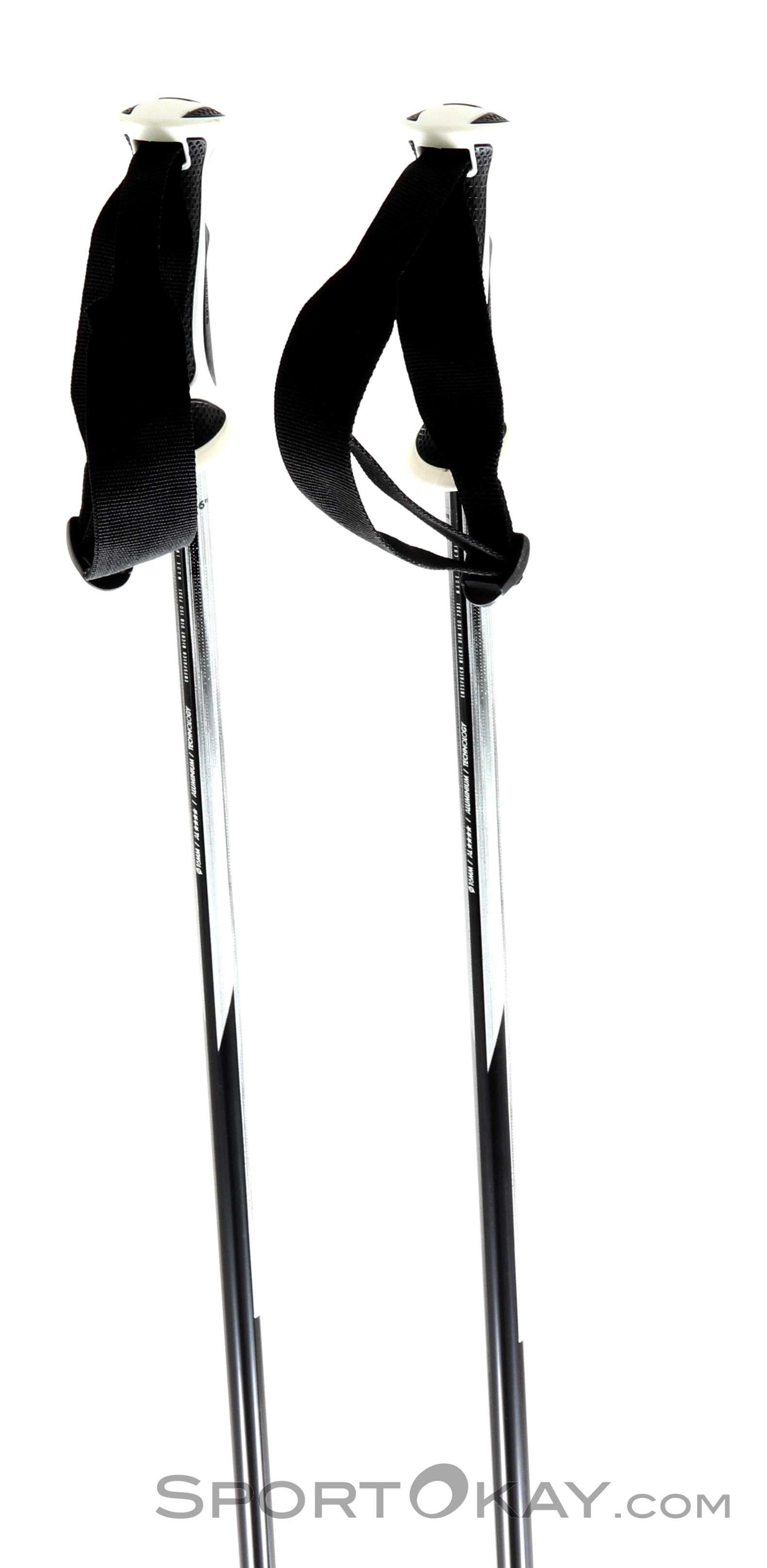 Salomon Shiva Alpine Ski Poles Black Size 100
