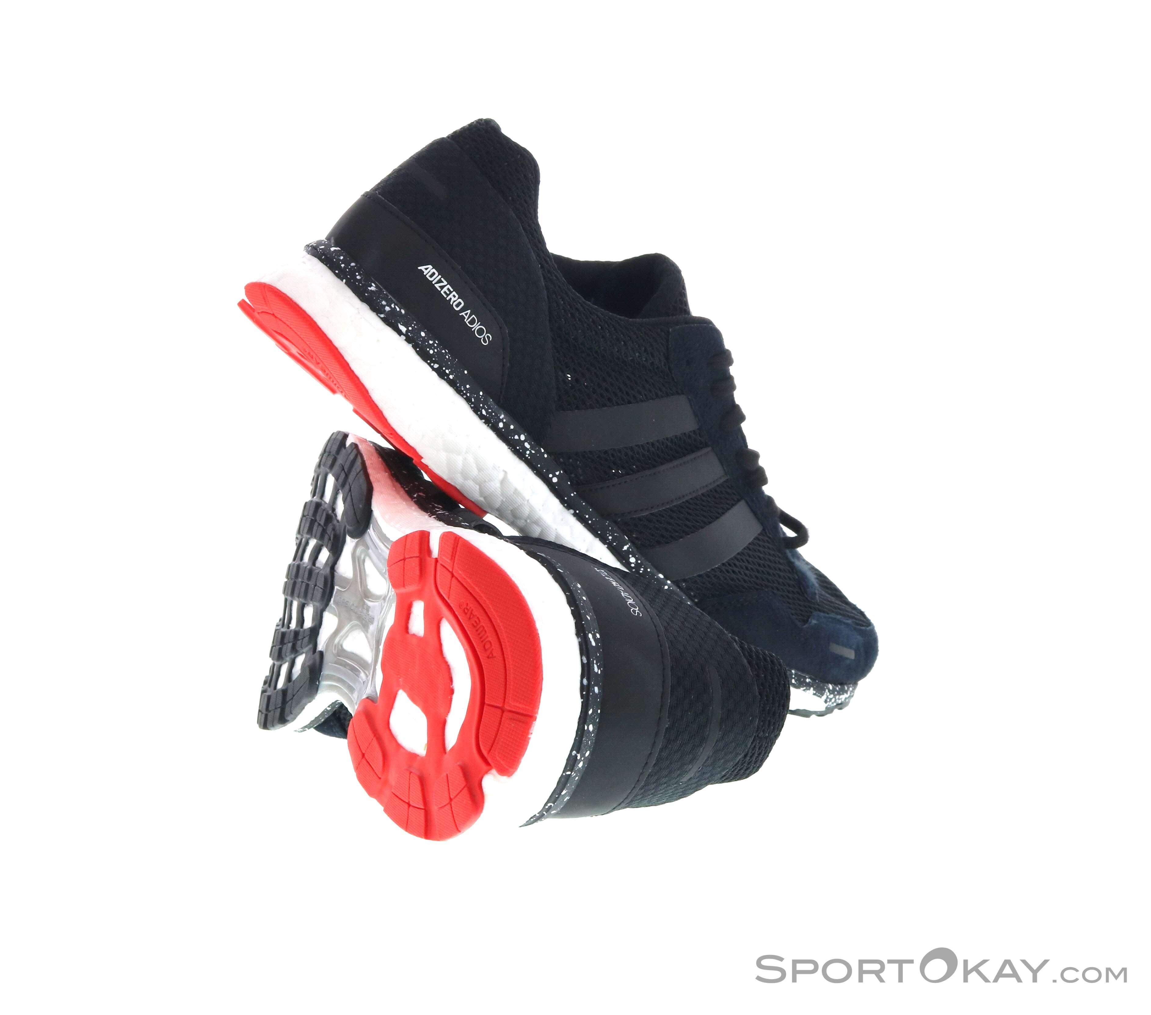 quality design 15dd8 d2c49 adidas Adizero Adios 3 Uomo Scarpe da Corsa, adidas, Rosso, , Uomo,