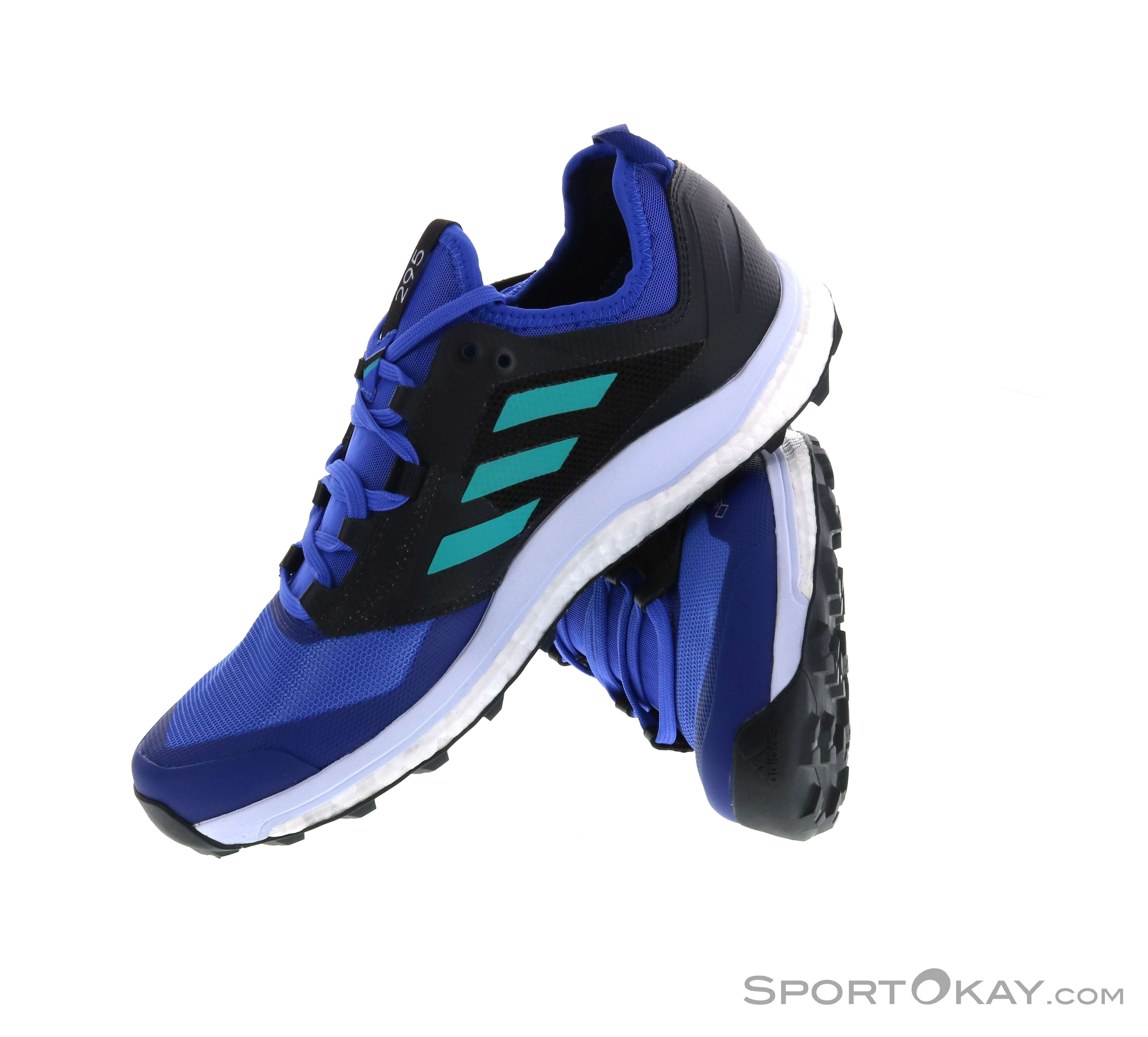 huge selection of 0401b bfca9 adidas Terrex Agravic XT GTX Womens Trail Running Shoes GTX, adidas, Blue, ,