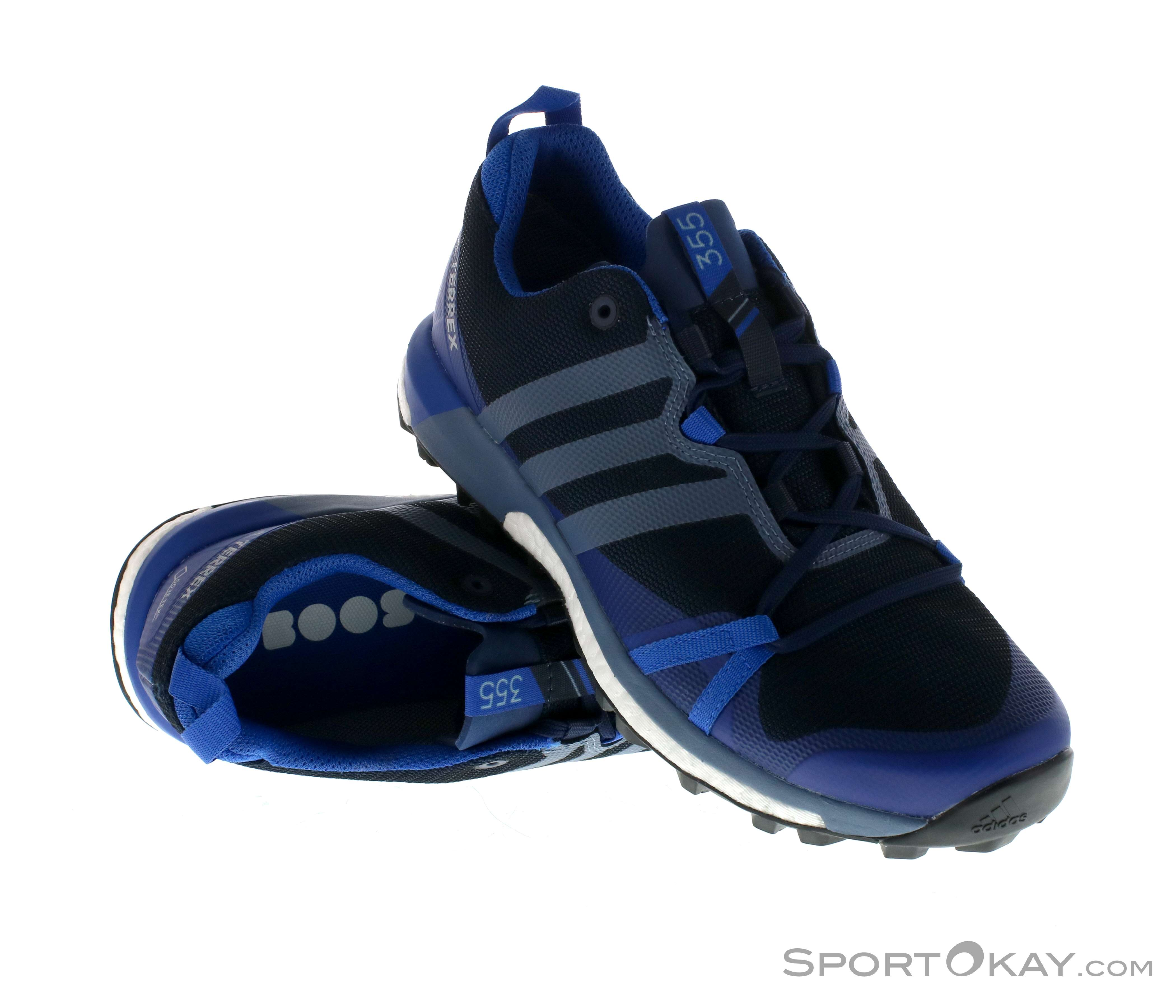 b938ae6fc9 adidas Terrex Agravic GTX Mens Trail Running Shoes Gore-Tex, adidas, Blue,