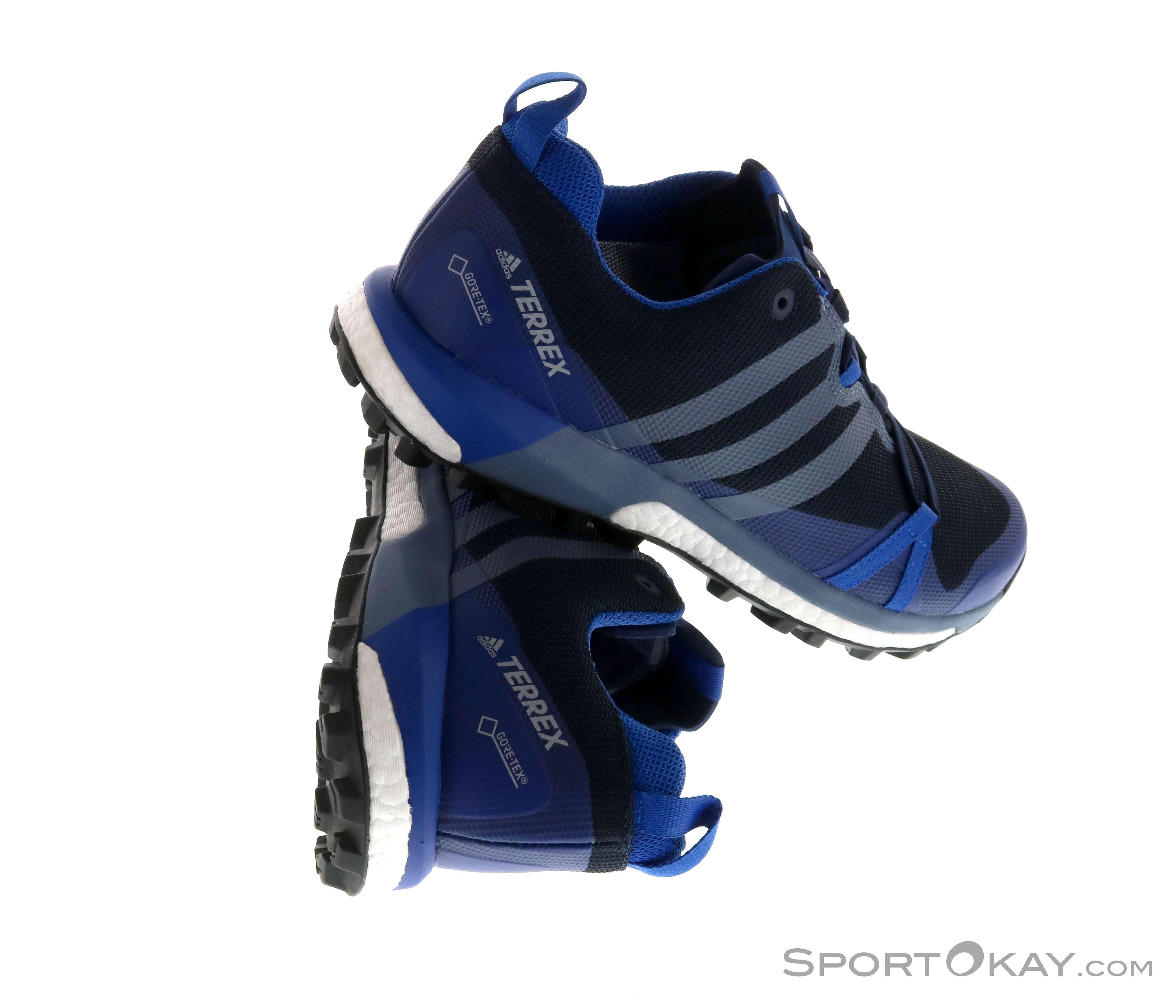 adidas Terrex Agravic GTX Herren Trekkingschuhe Gore-Tex