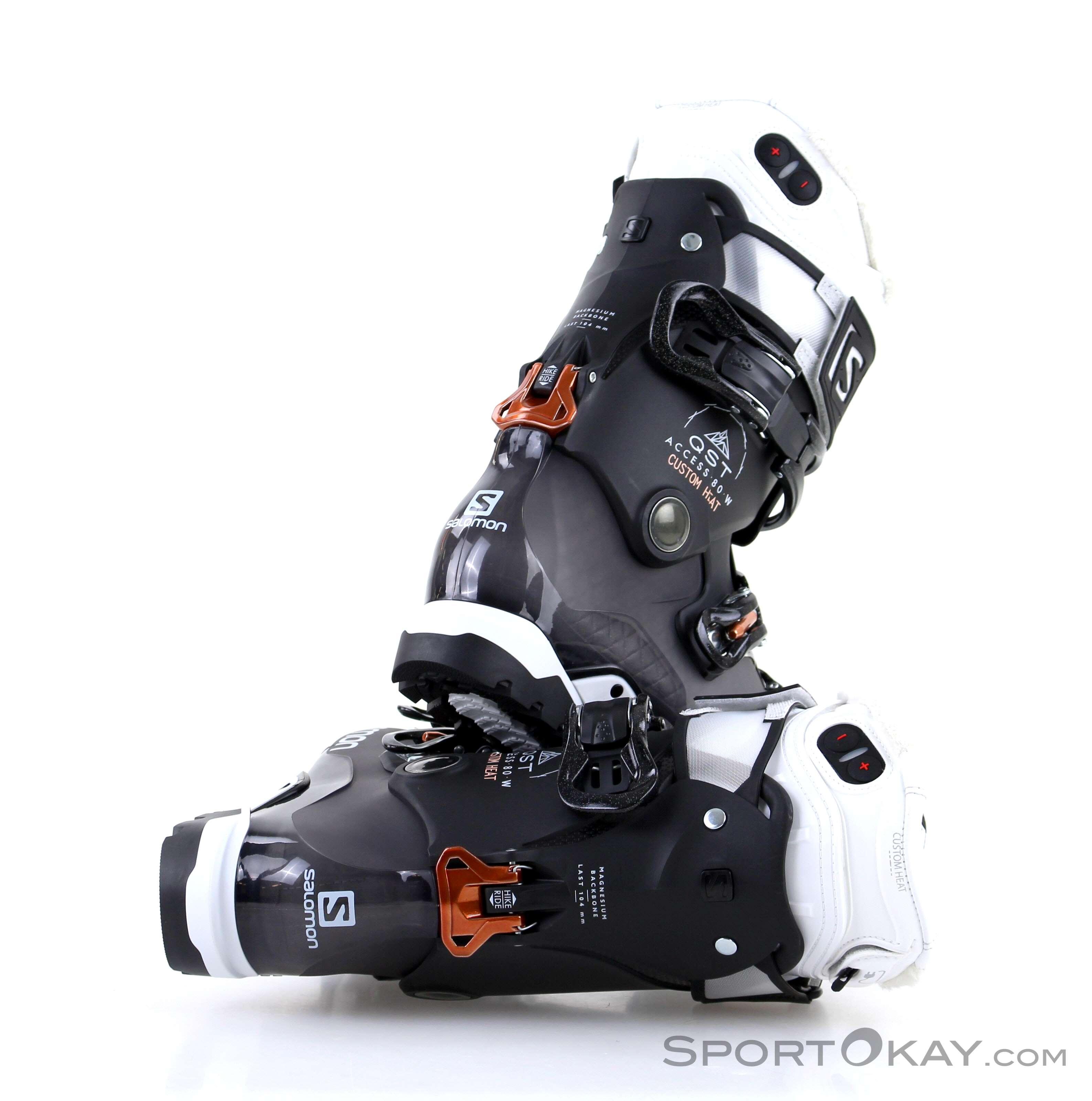 1ddc845e77 Salomon Salomon QST Custom Heat Womens Ski Boots